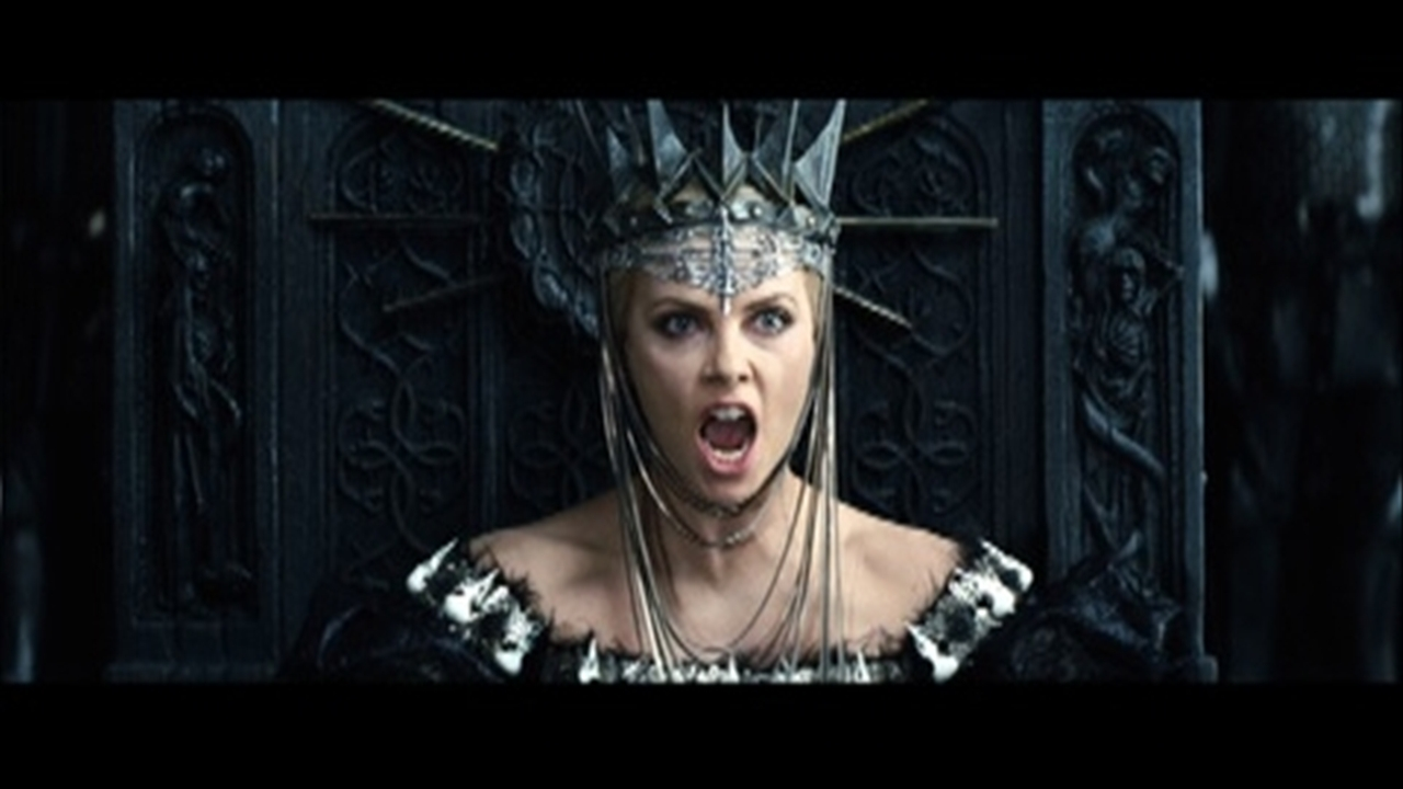 ... Snow White and the Huntsman - Clip (00:51) Clip: The Queen questions the Huntsman in her throneroom ...