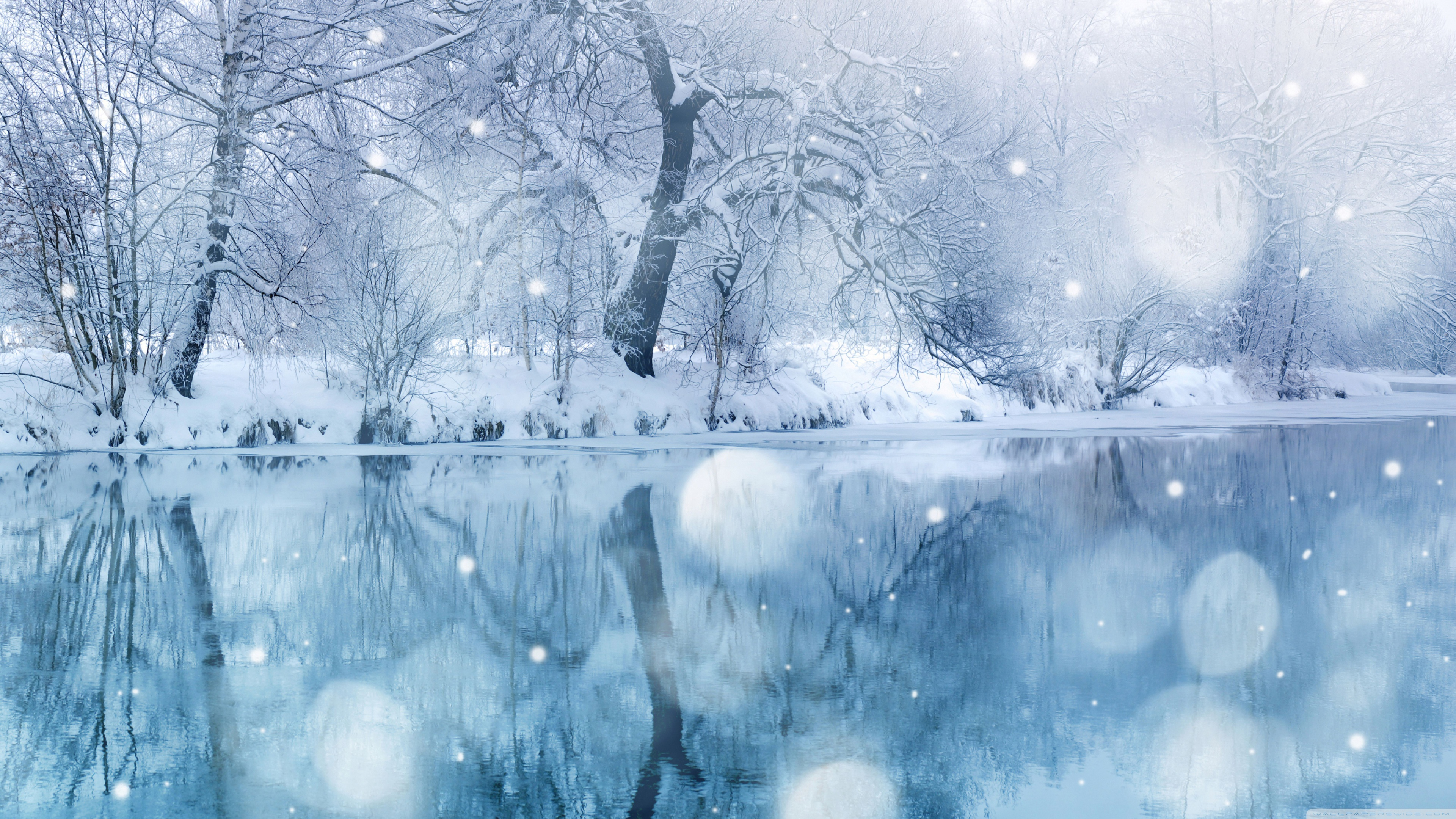 Snowfall Wallpaper