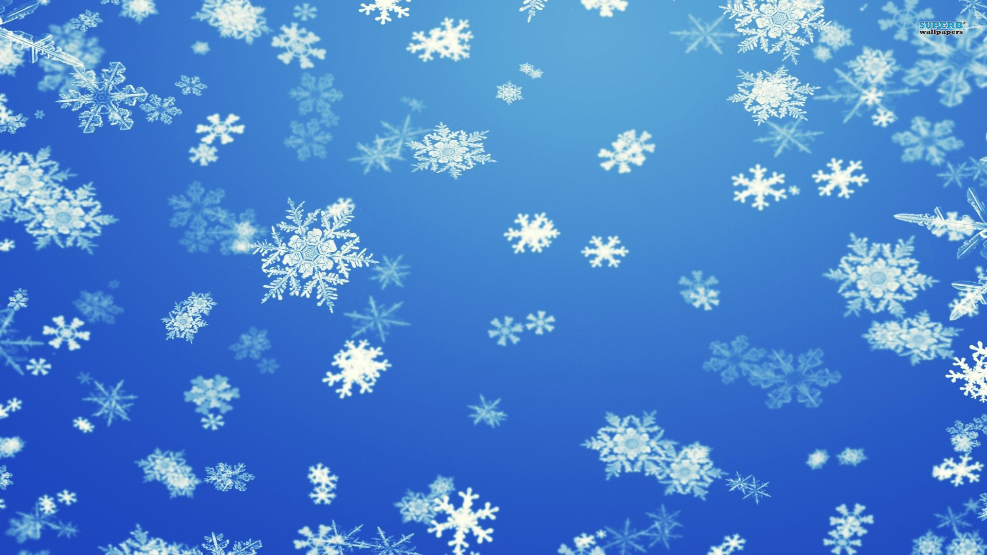 Snowflake background wallpaper