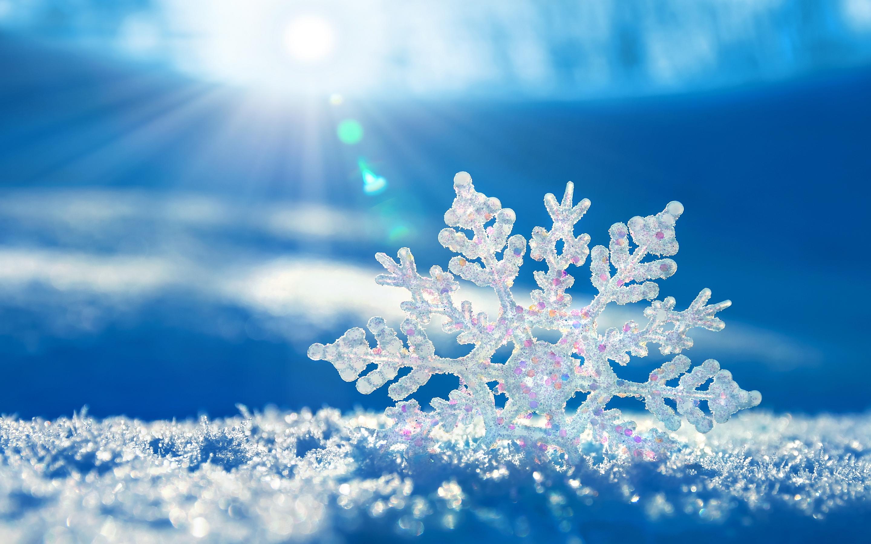 Snowflake sunshine