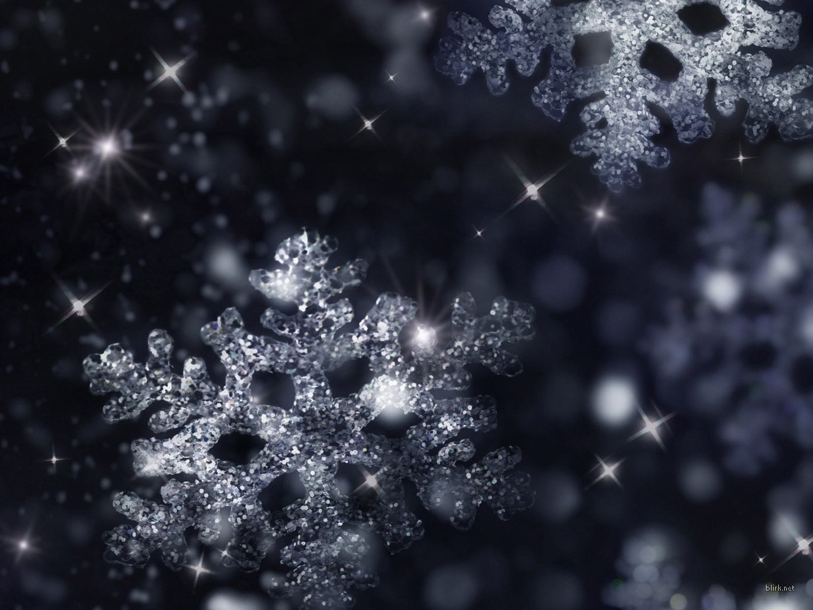 Snow Falling Wallpaper Hd: Wallpapers for Gt Real Snowflakes Falling Wallpaper 1600x1200px