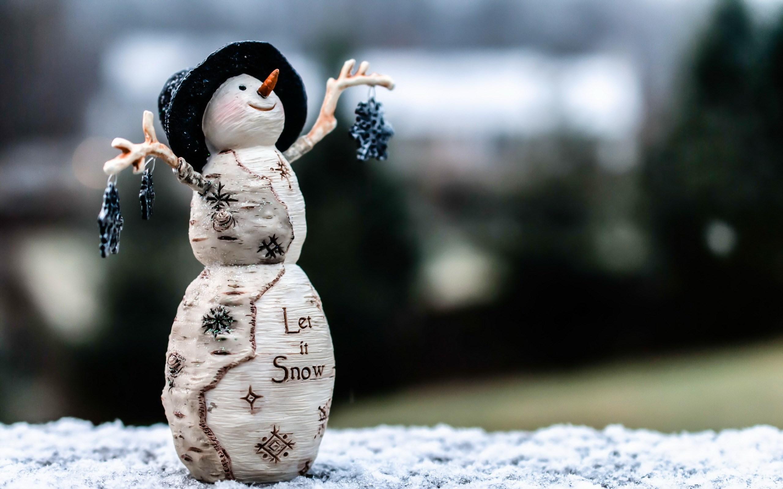Snowman Toy Winter