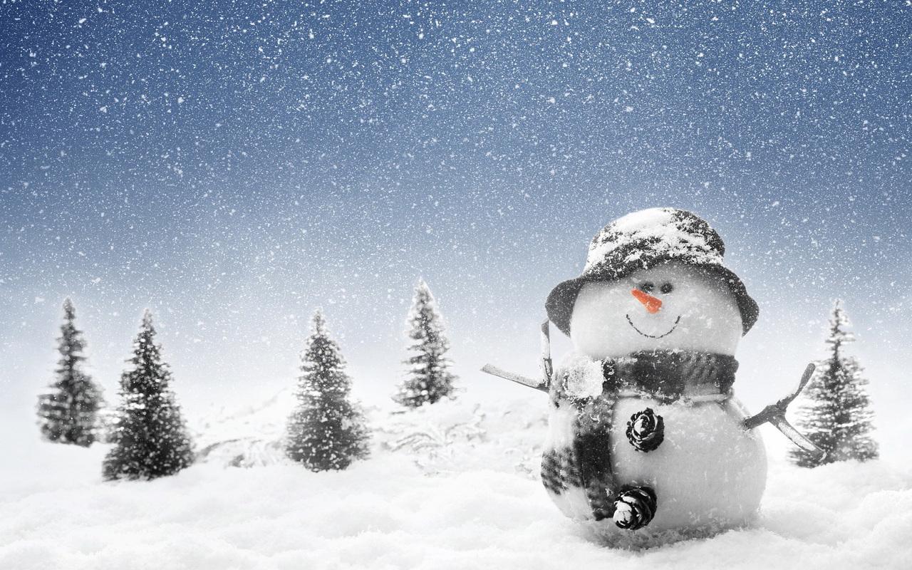 Snowman Wallpaper 22778