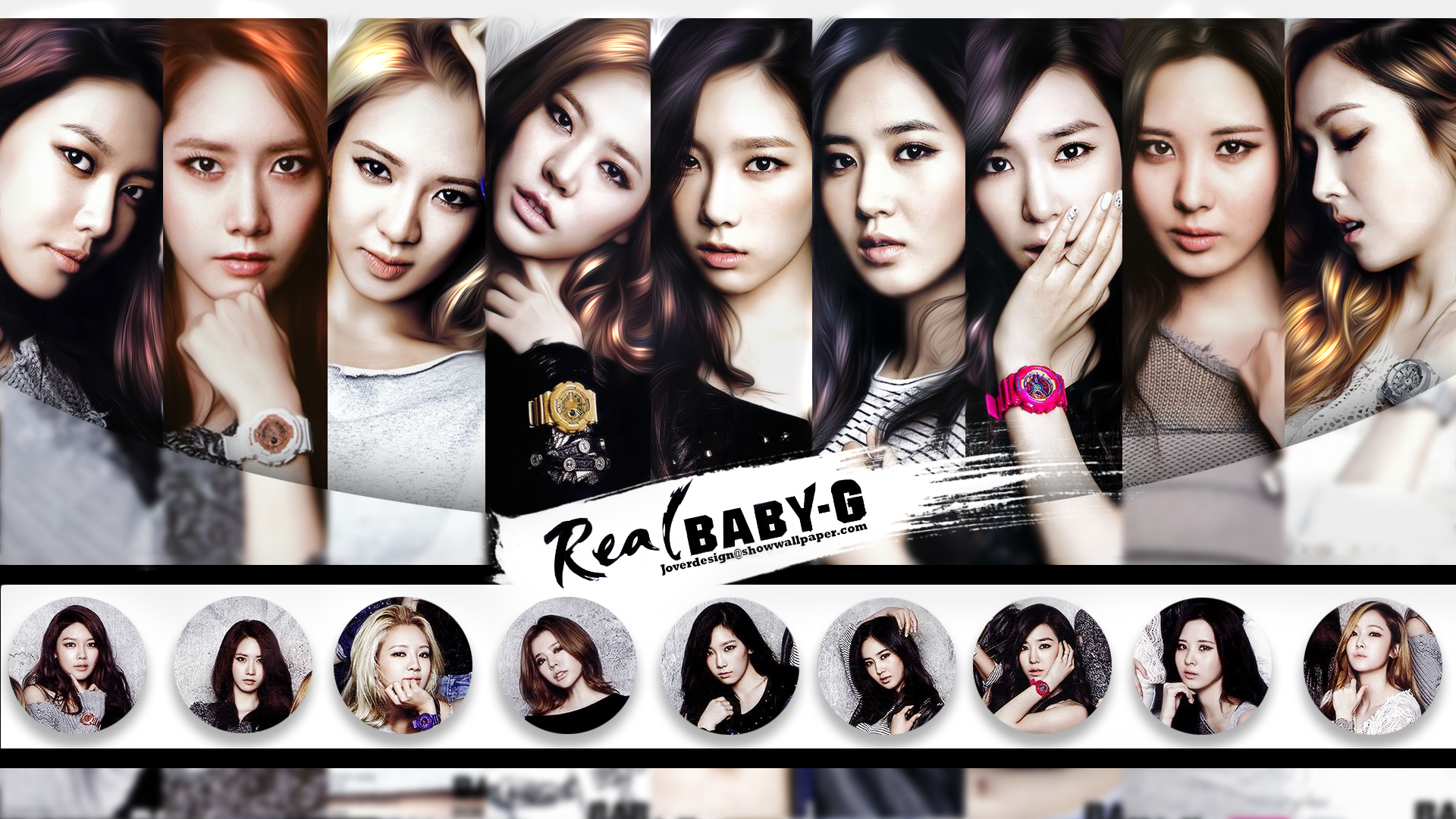 Snsd Real Baby G by Jover-Design
