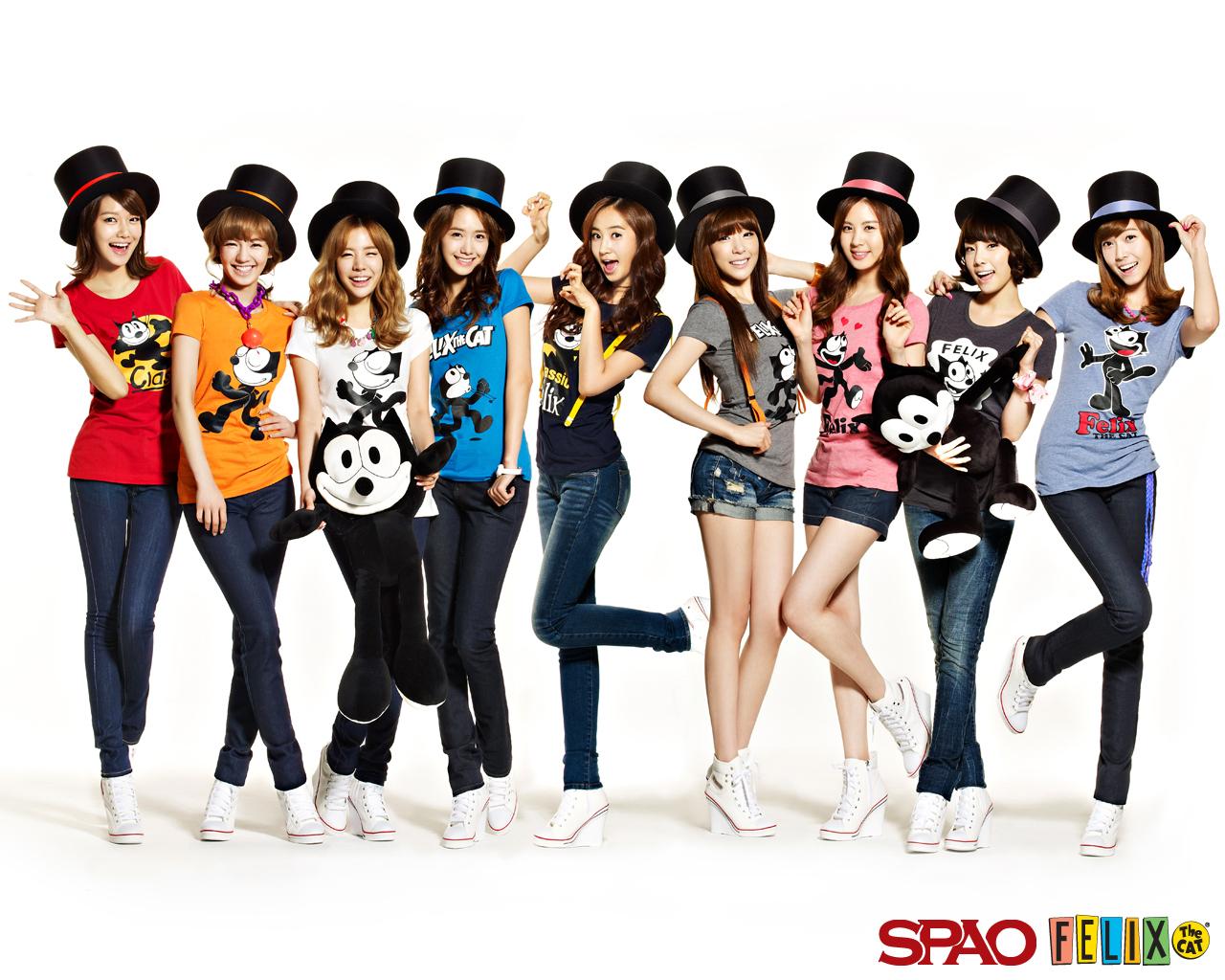 SNSD-SPAO-Felix-The-Cat-girls-generation-snsd-