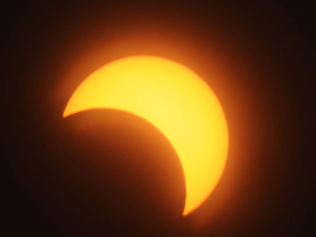 Solar eclipse ...