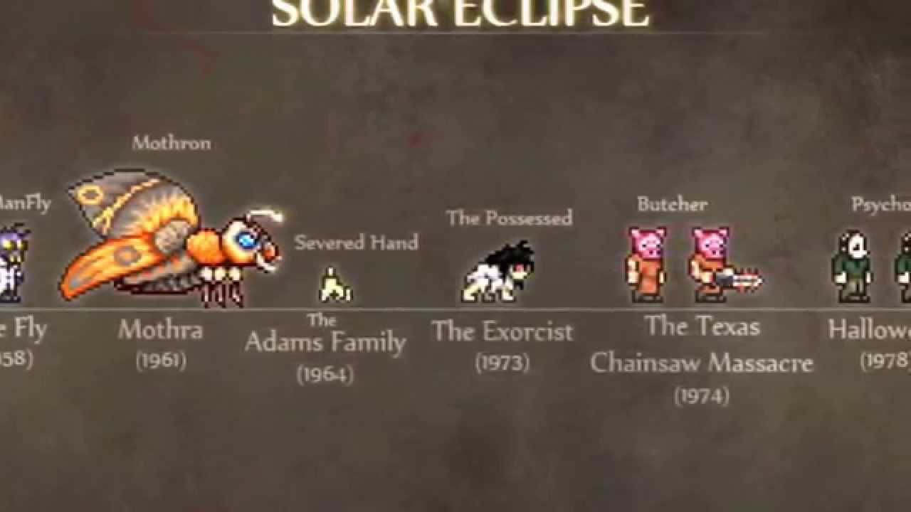 Terraria 1.3 Spoilers: New Solar Eclipse Enemies