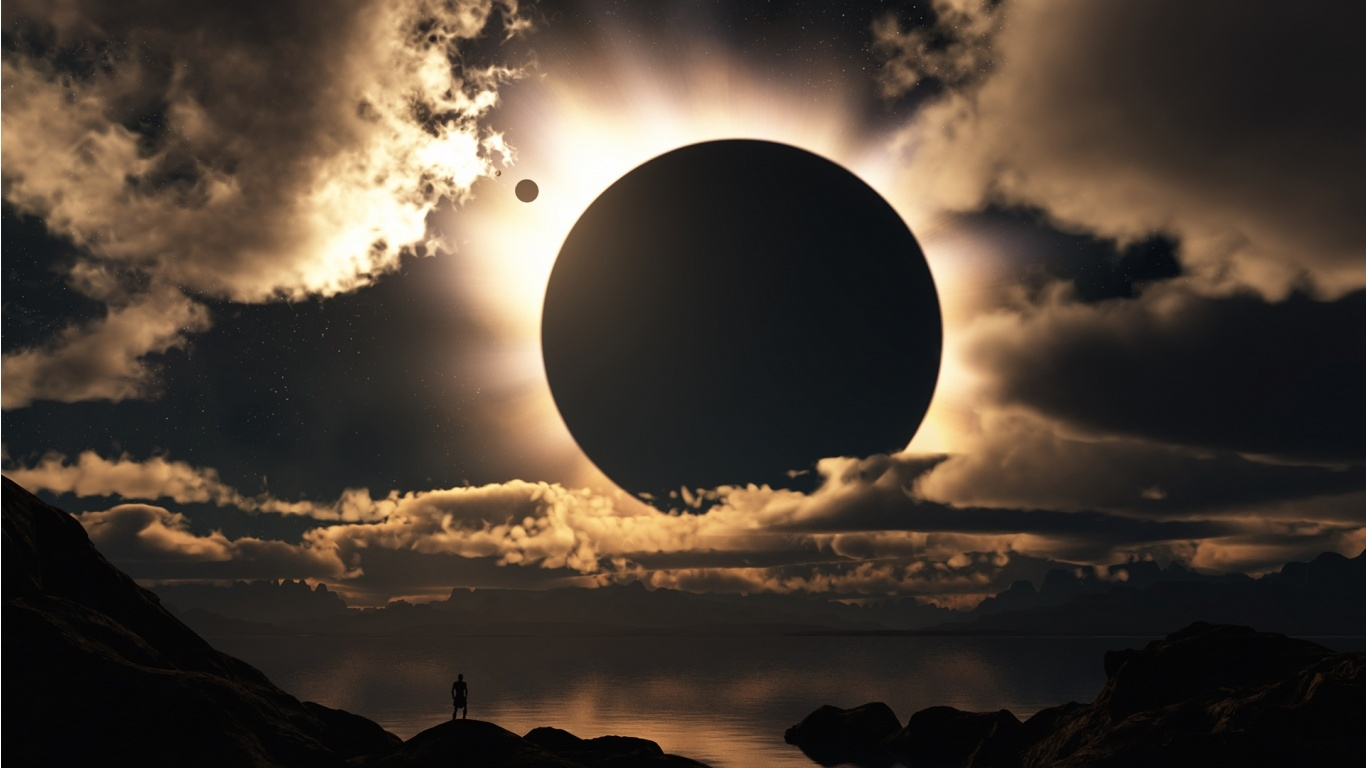 Creative Solar Eclipse Wallpaper. More Free PC Wallpaper for Your Desktop Backgrounds