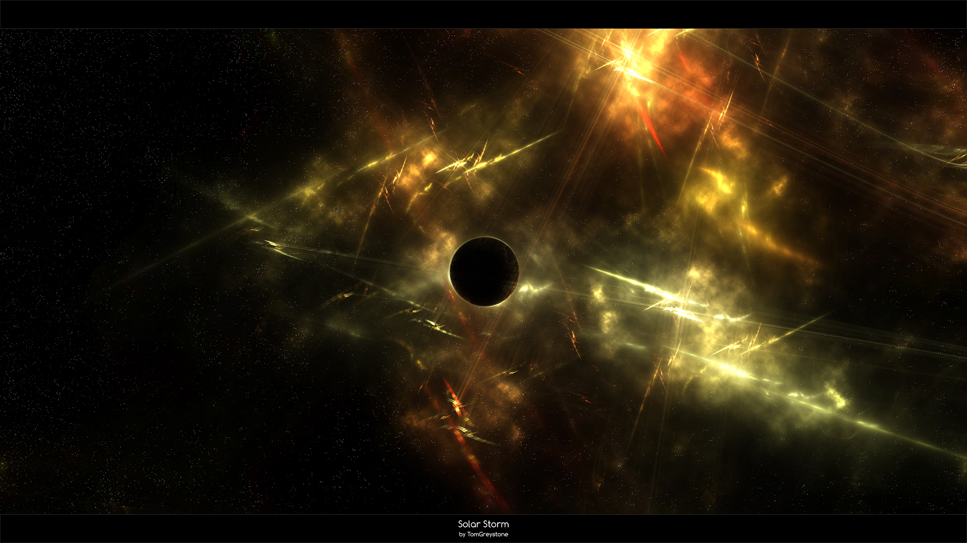 Solar Storm wallpaper by TomGreystone Solar Storm wallpaper by TomGreystone