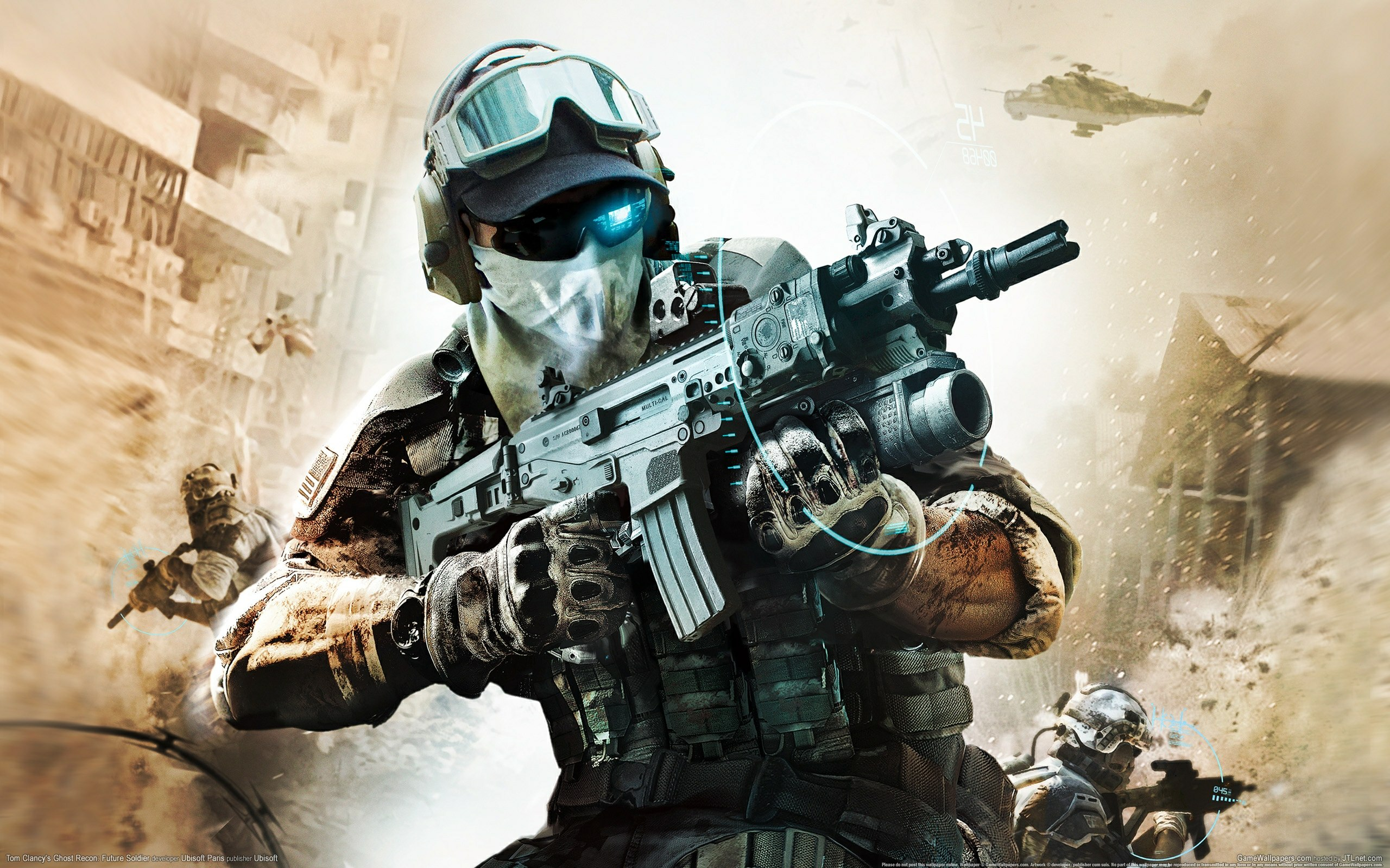 Soldiers ghost recon