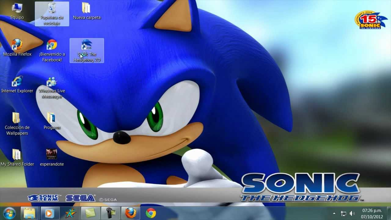 Tutorial como descargar e instalar sonic the hedgehog (2006) 2D para pc full en 1 link