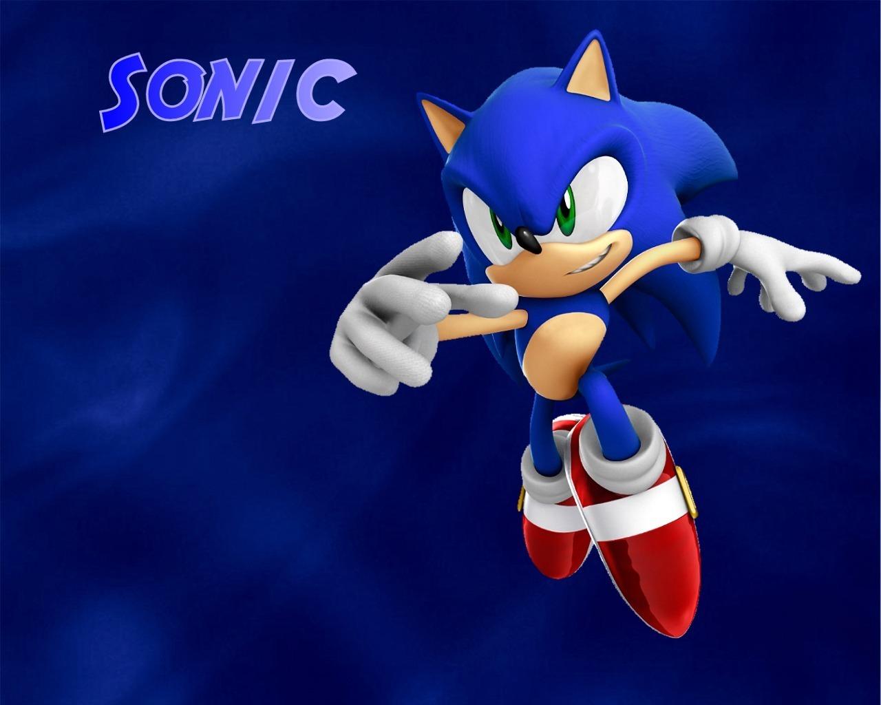 Glamorous Sonic The Hedgehog Sega Wallpaper Download 1280x1024px