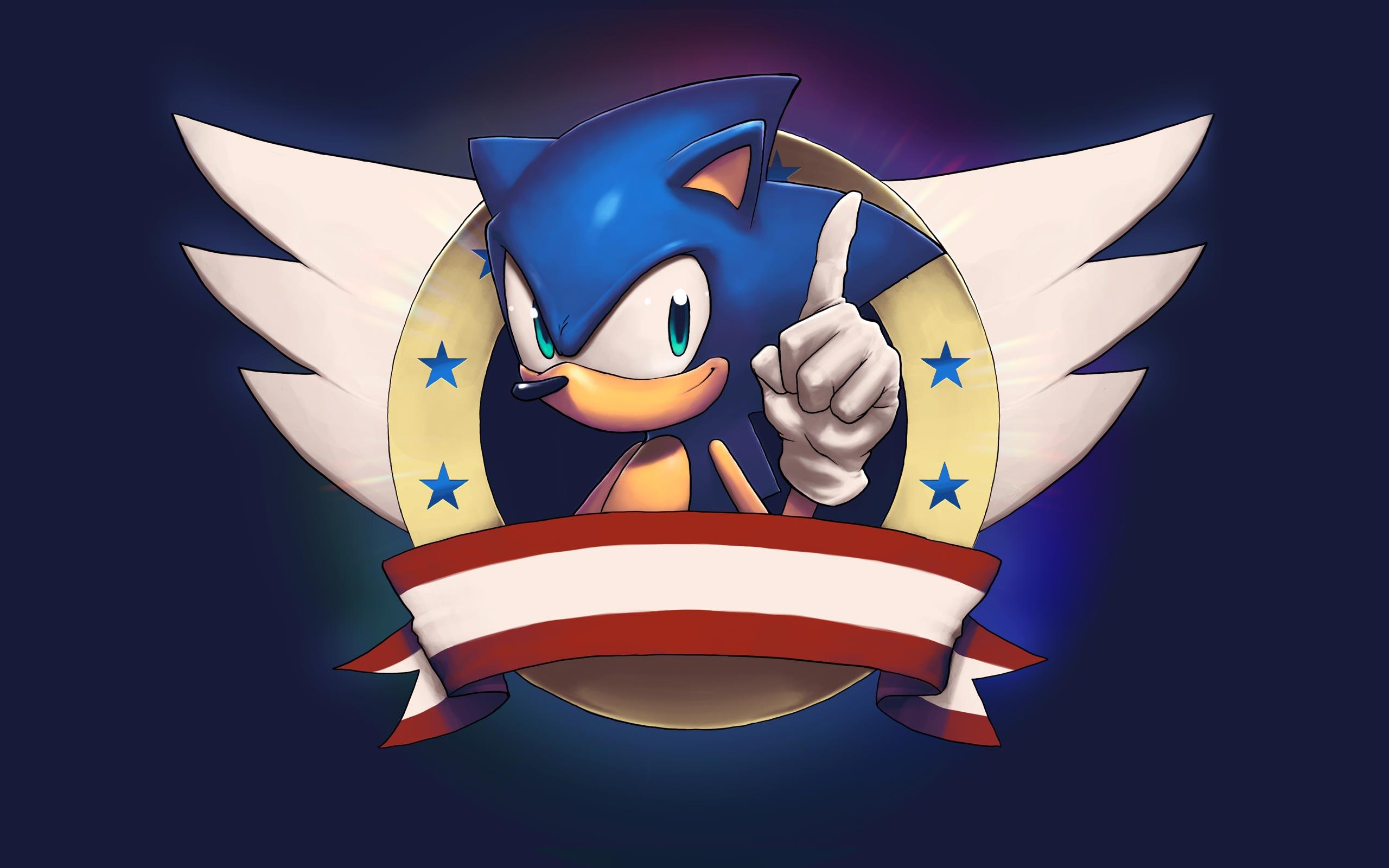 Surprising Hd Sonic The Hedgehog Usa Wallpaper