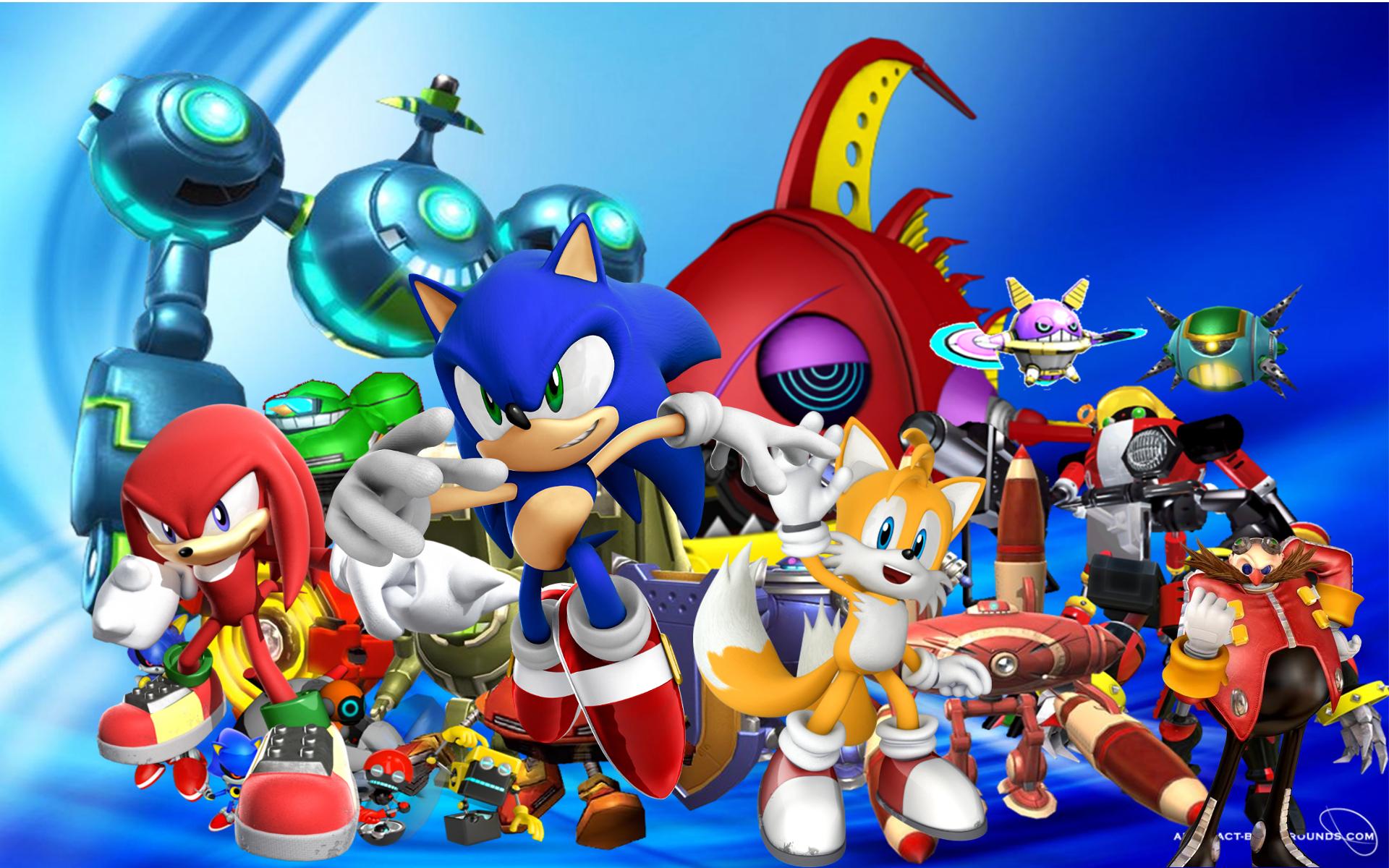 Sonic Wallpaper by StellaTheCat12 Sonic Wallpaper by StellaTheCat12