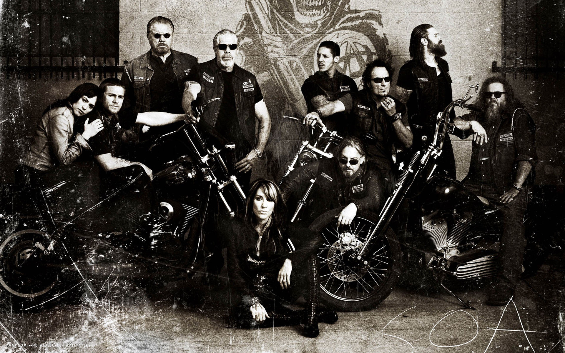 Sons Of Anarchy Wallpaper 1920x1200 73711