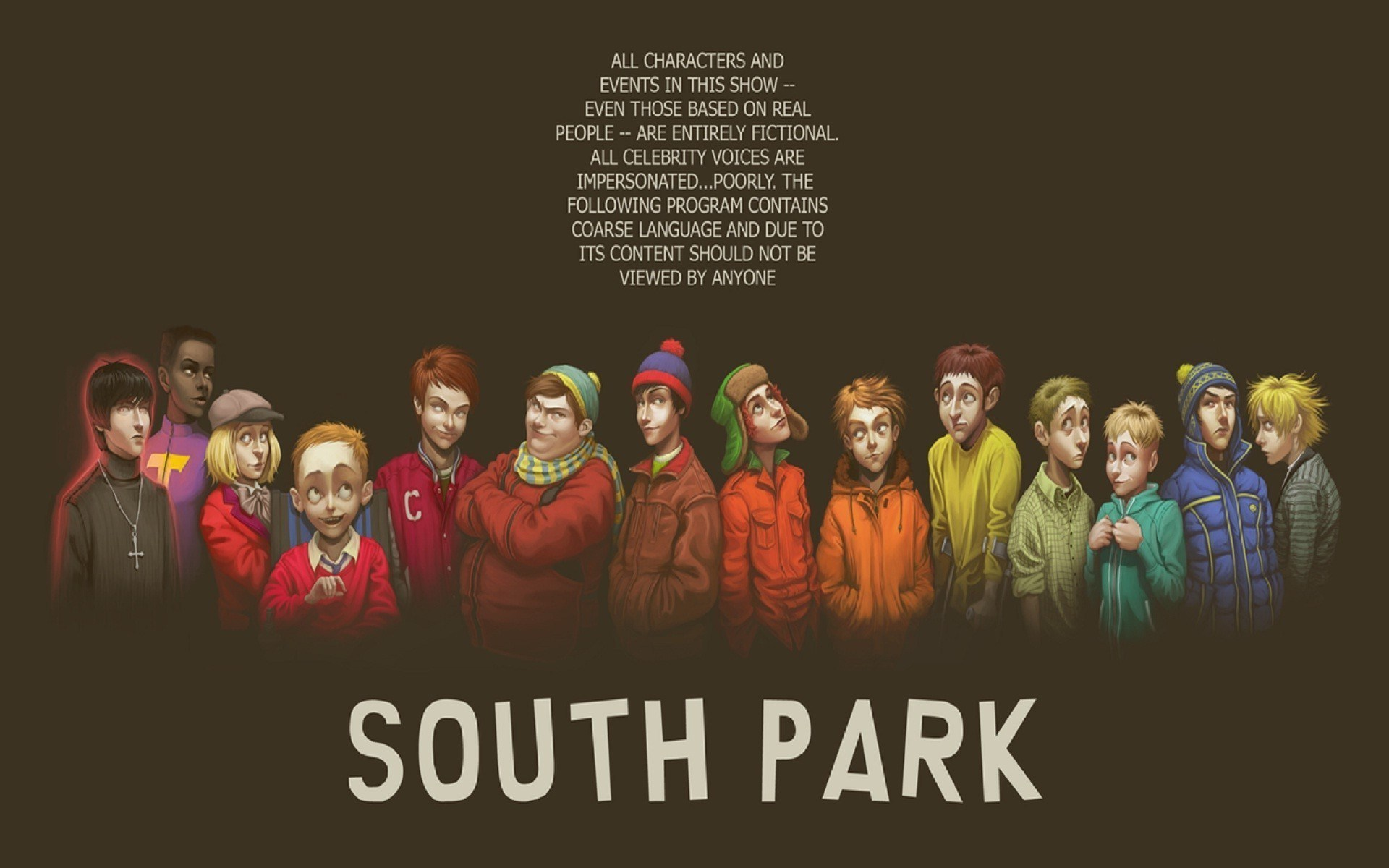 South Park Animated Cartoon