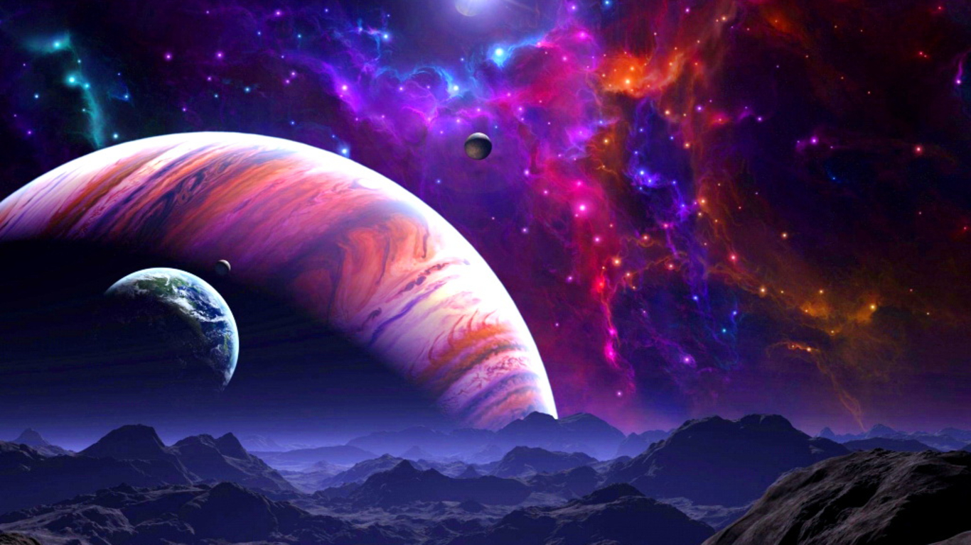 Space Art Wallpaper Download