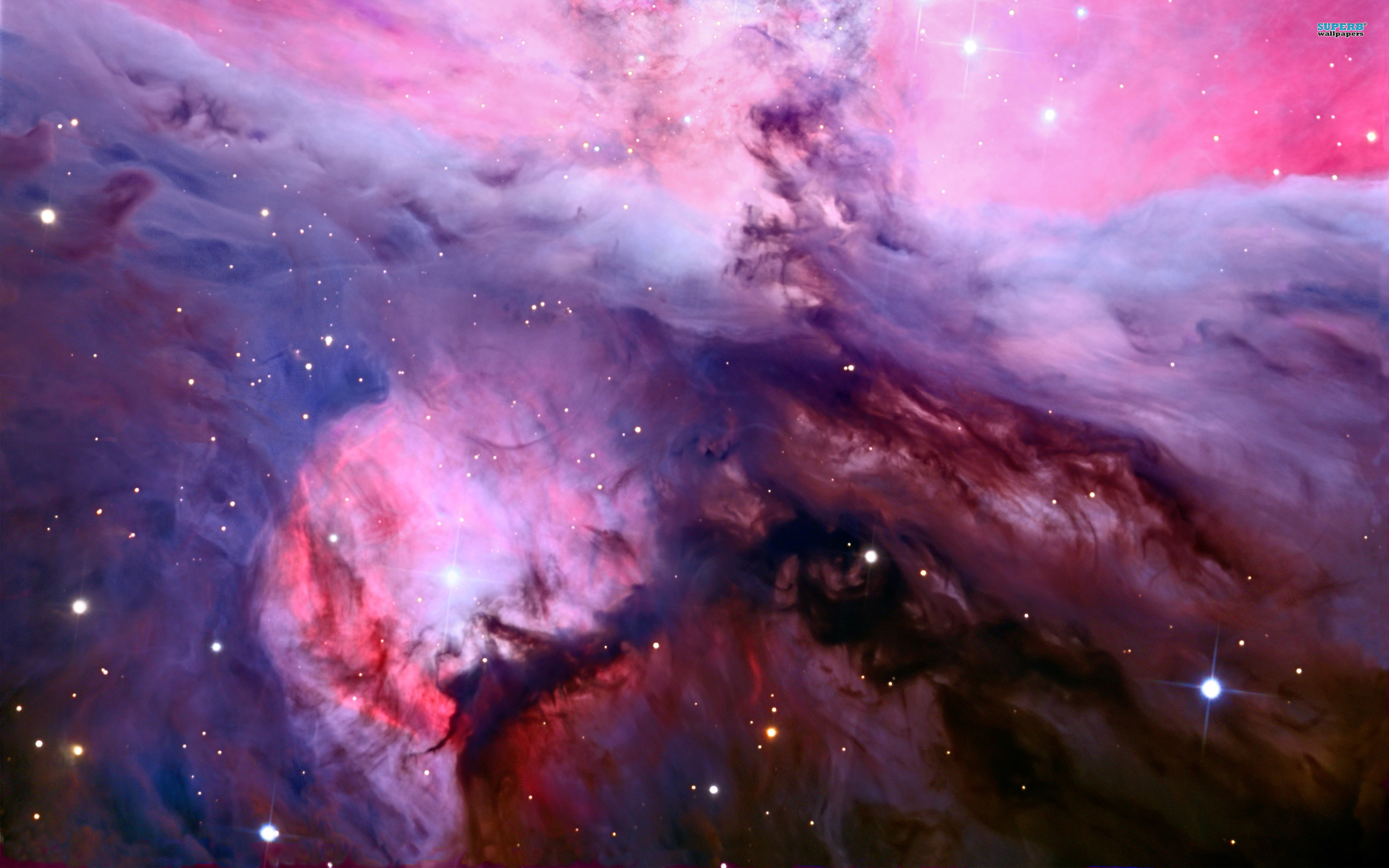 Space orion nebula