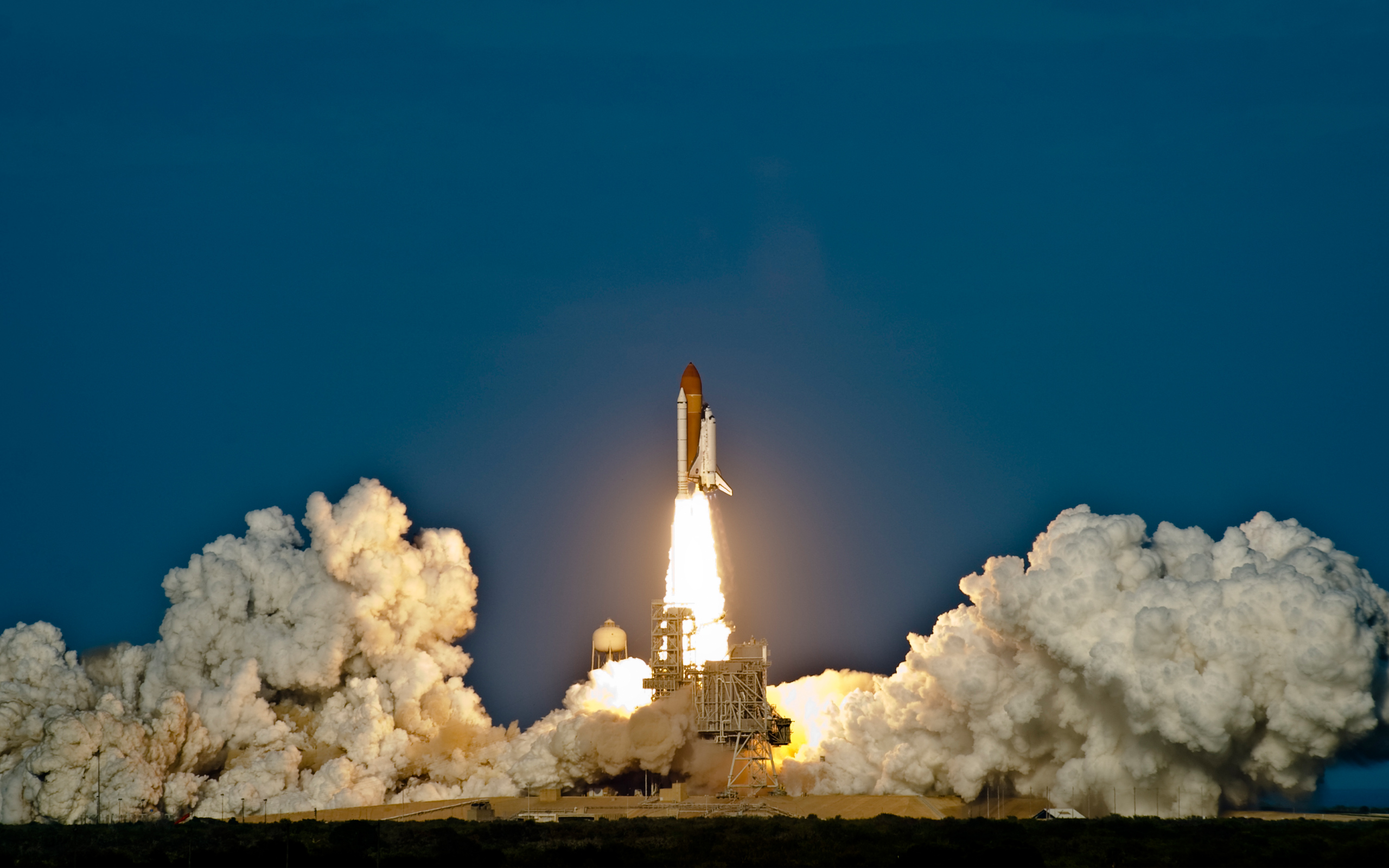 Space shuttle launch hd