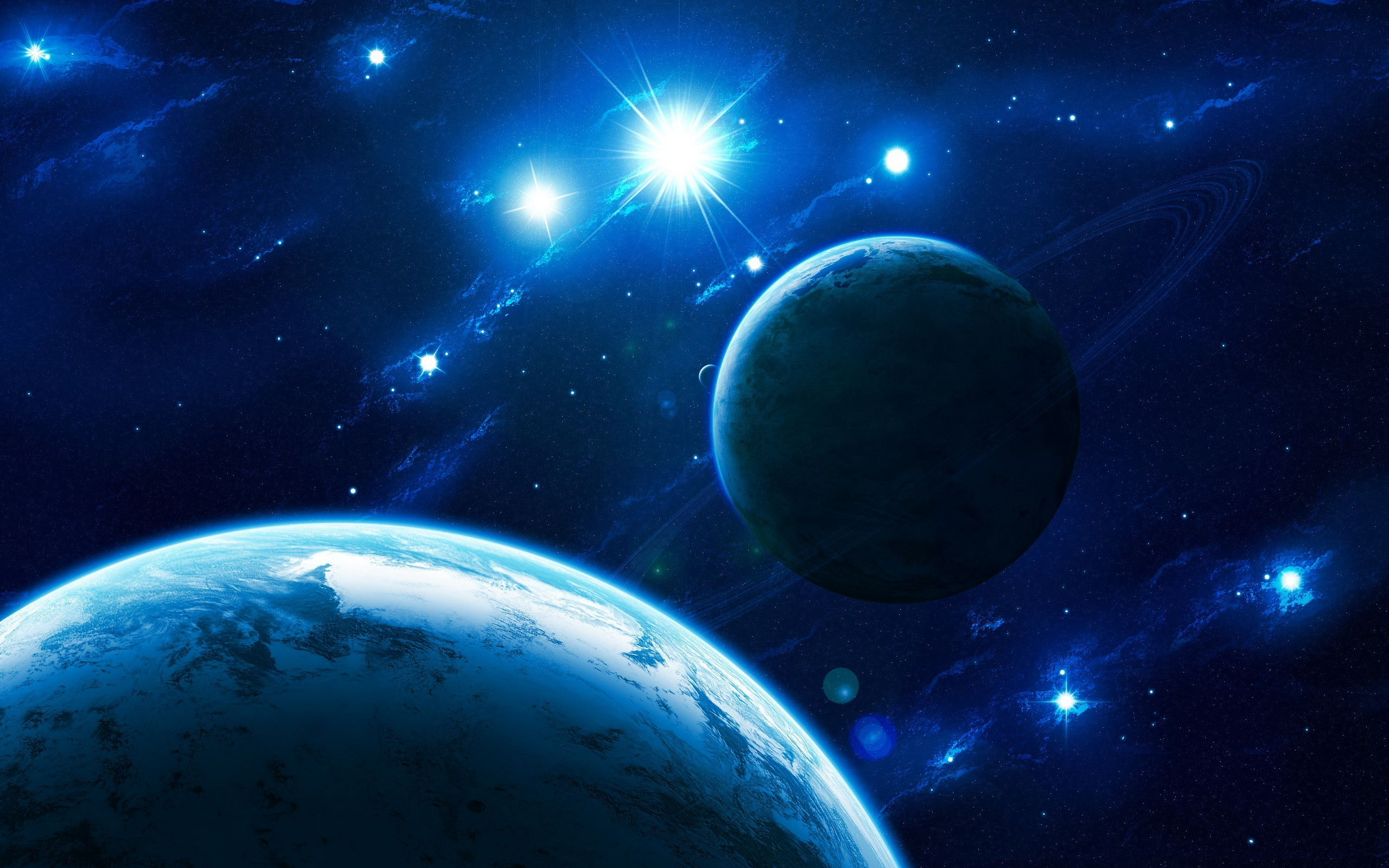 original wallpaper download: Star System - 2560x1600