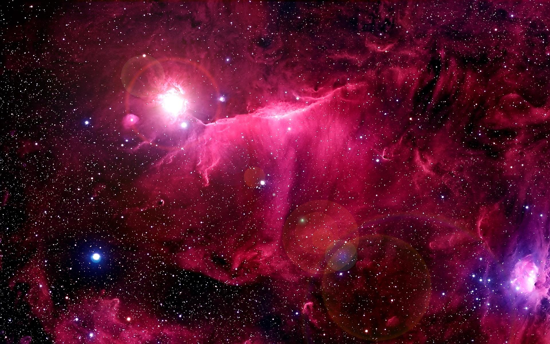 Space stars nebulae