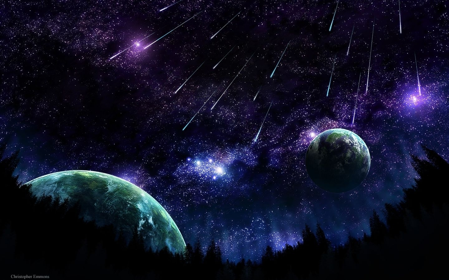 Space Space Art Wallpaper