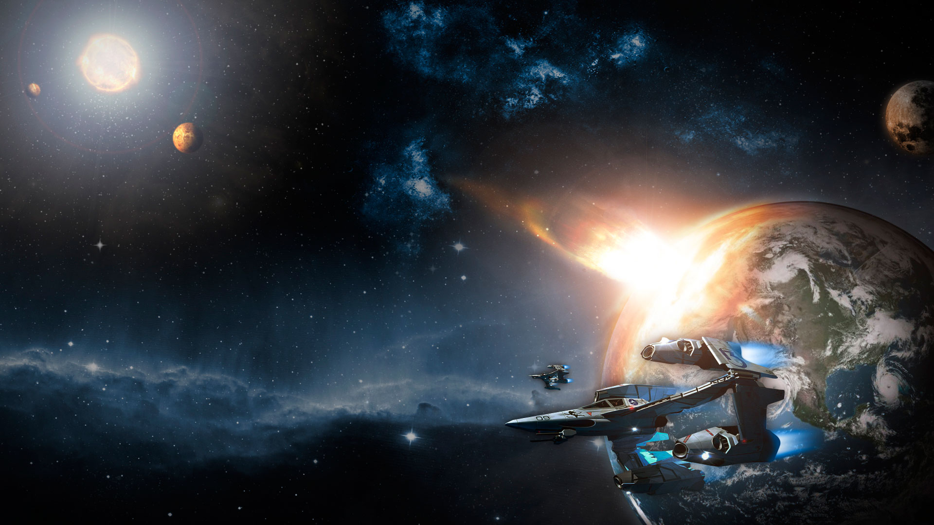 ... spaceship-wallpapers