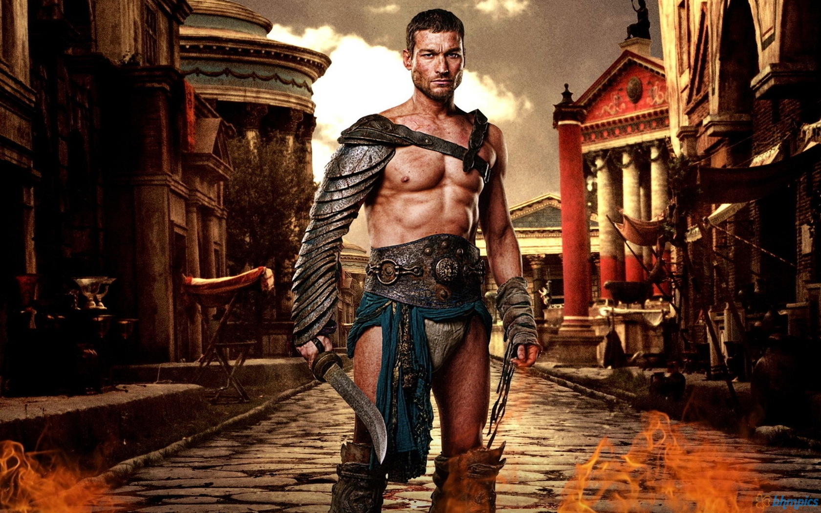 Spartacus in Capua (Starz TV)