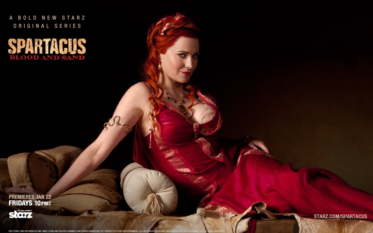 Download Lucretia Spartacus Blood and Sand Wallpaper : Widescreen : 1152 x 720 | 1280 x 800 ...
