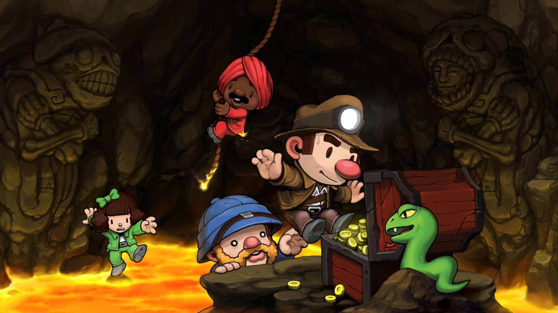 Spelunky Wallpaper