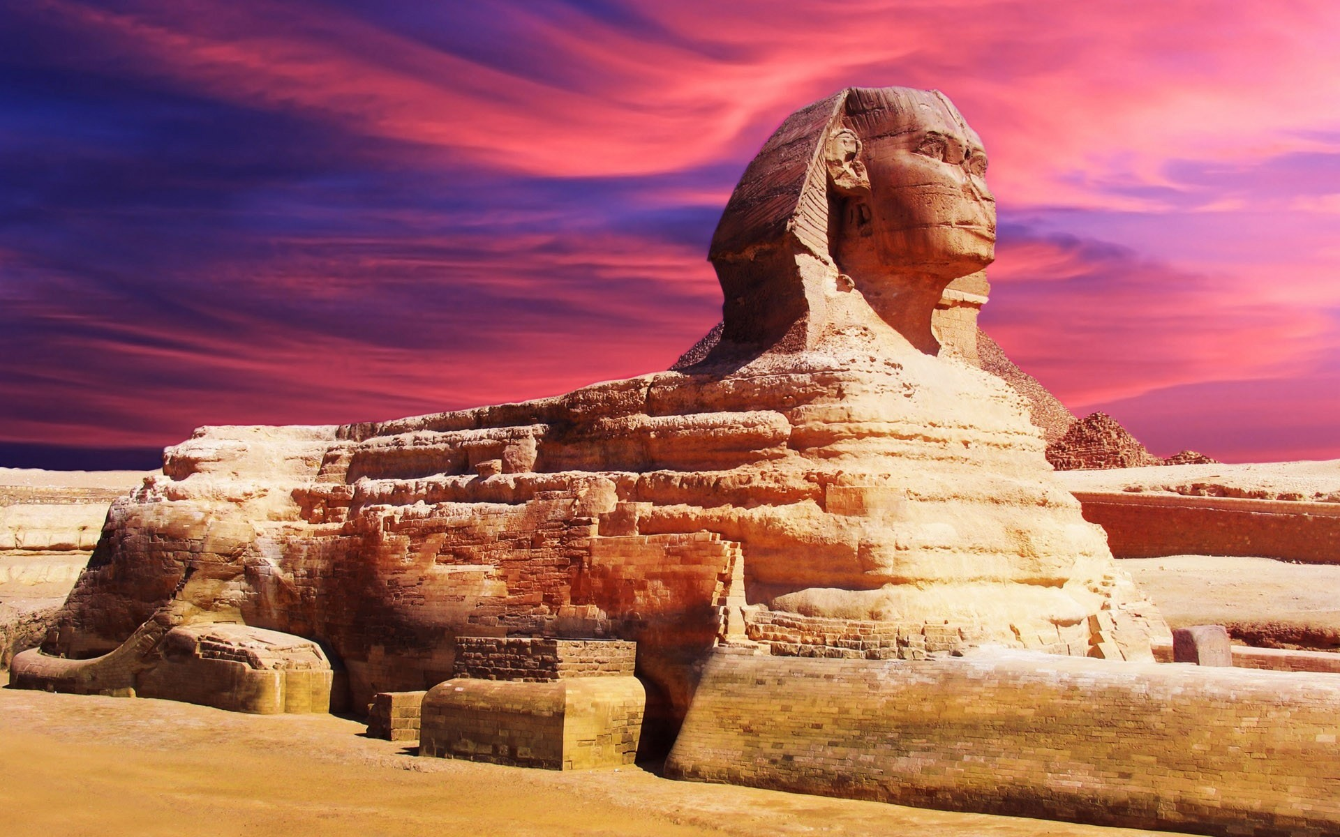 Sphinx egypt Wallpapers Pictures Photos Images. «