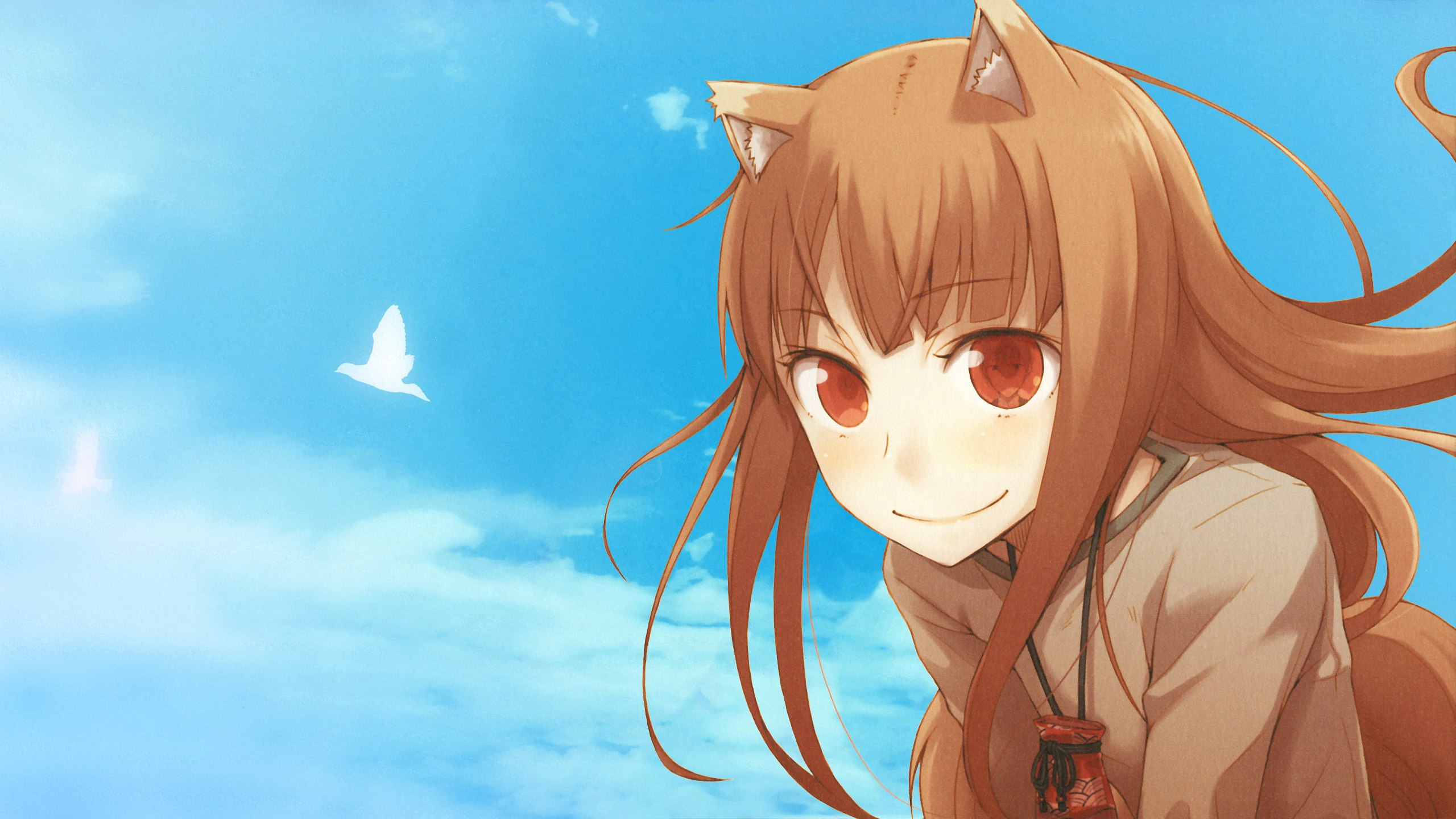 Spice and Wolf Res: 2560x1440 / Size:509kb. Views: 13488