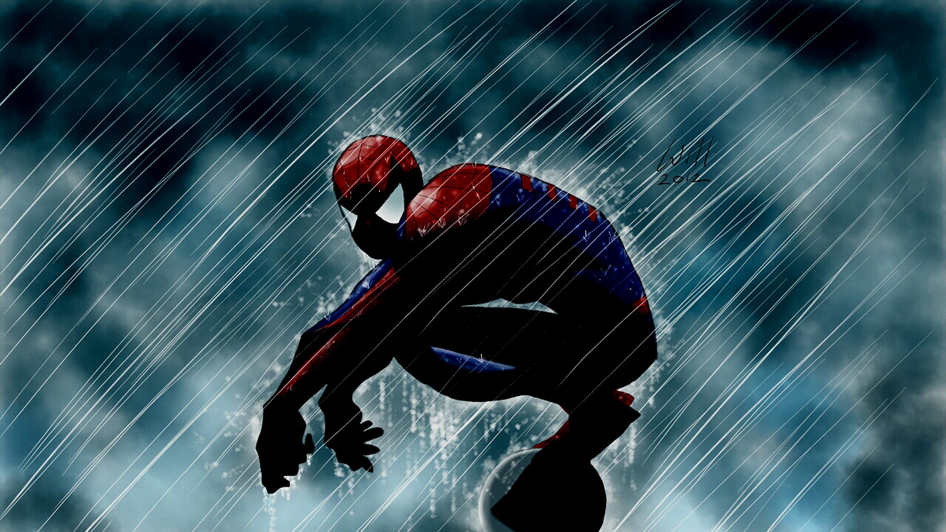Spiderman art