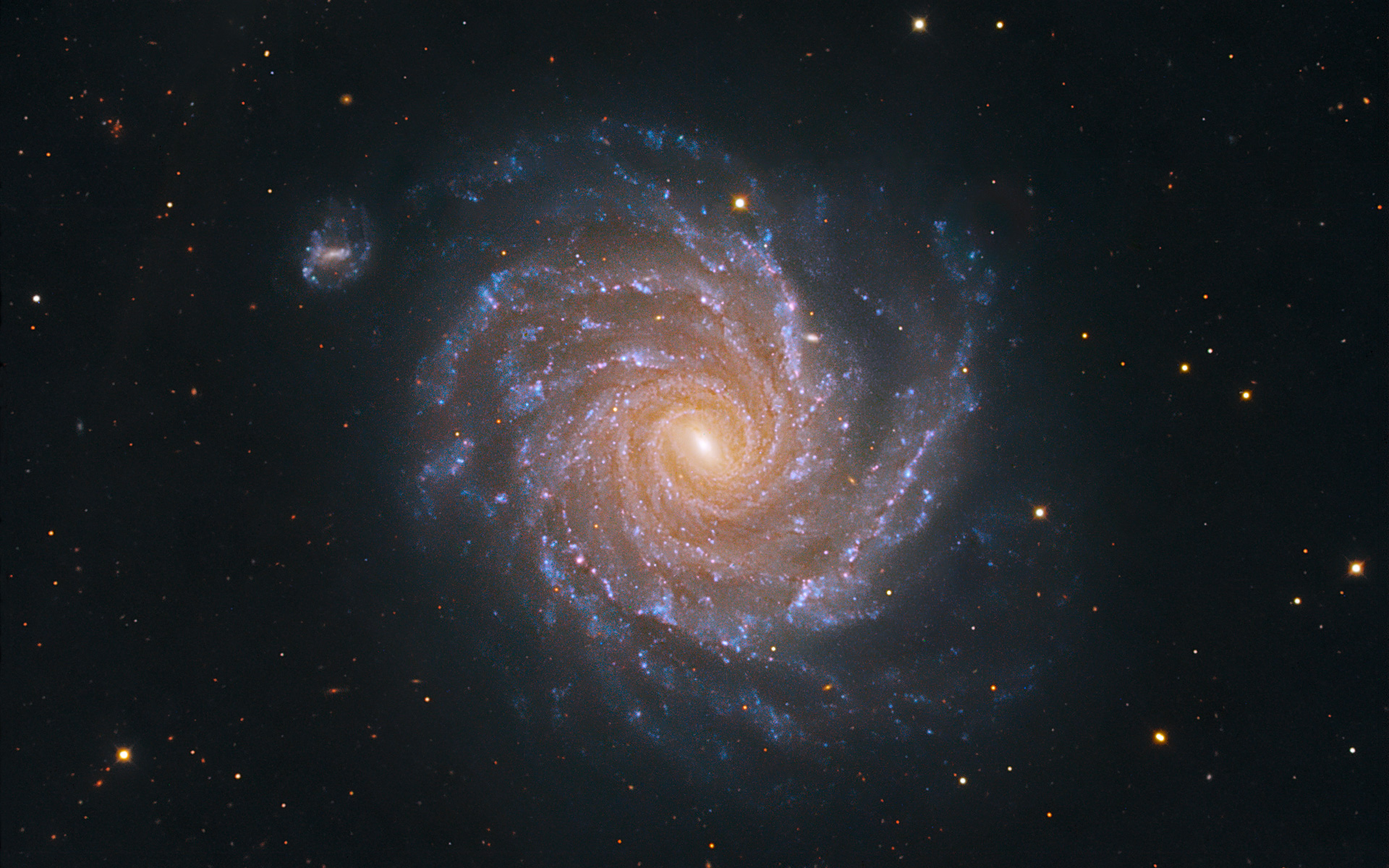 Large Spiral Galaxy Wallpapers