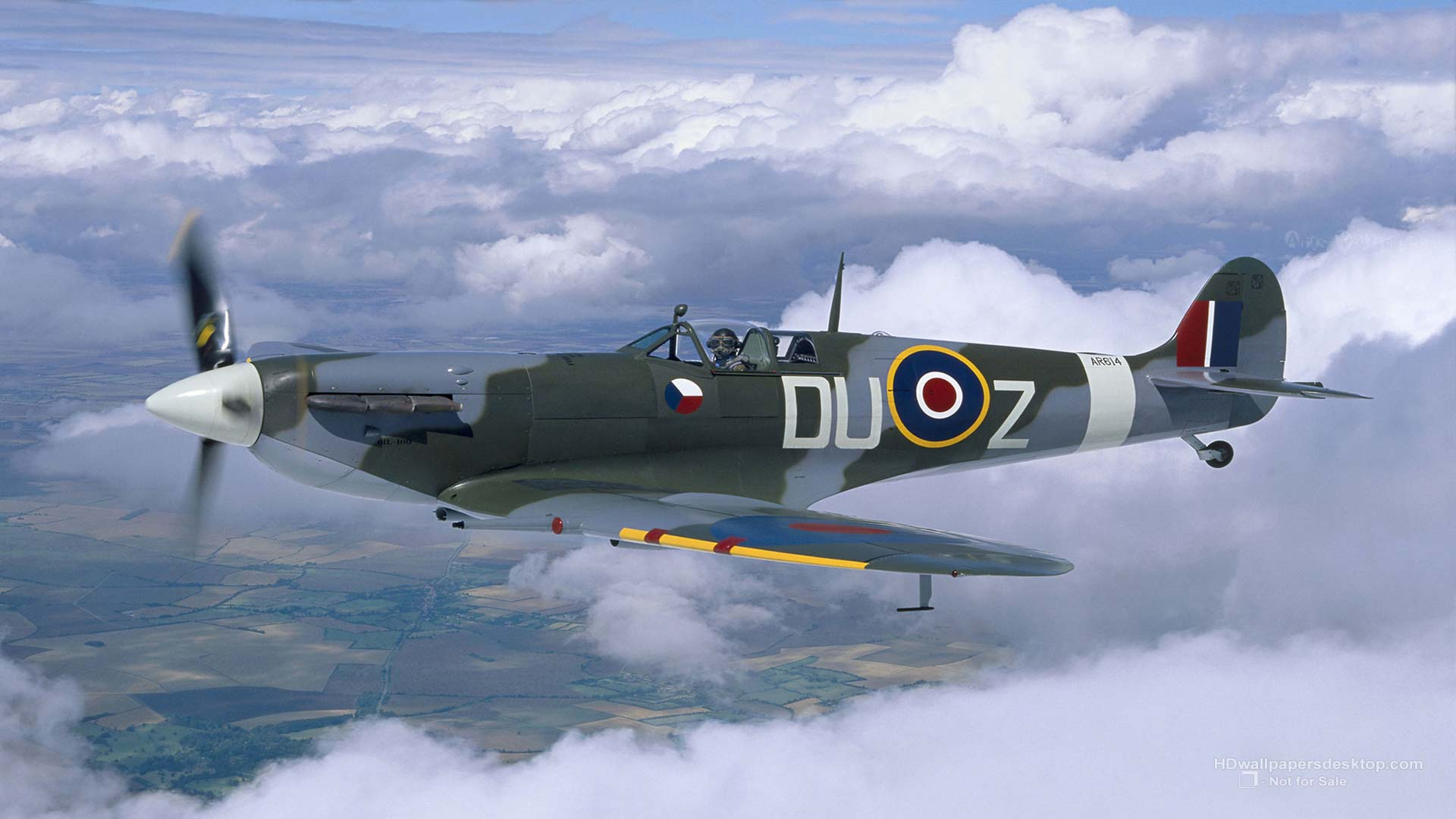 Military Hd Wallpapers 1080p: Spitfire Wallpapers Aircraft Backgrounds 1920x1080px