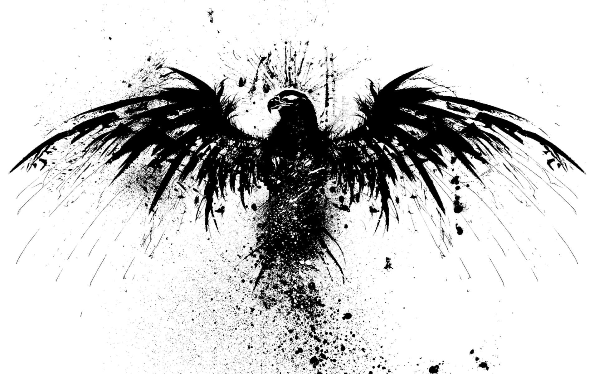 Eagle Splatter wallpaper