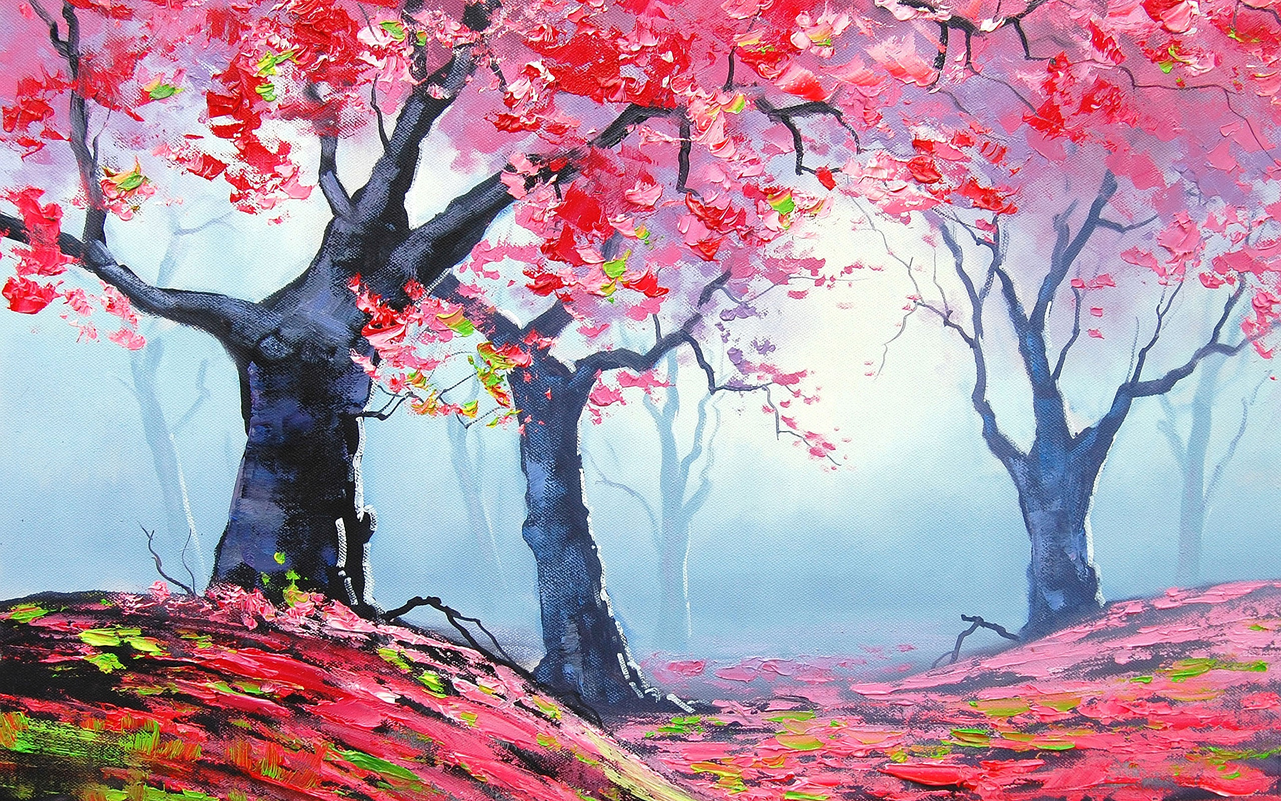 Description: The Wallpaper above is Spring Trees Drawing Wallpaper in Resolution 2560x1600. Choose your Resolution and Download Spring Trees Drawing ...