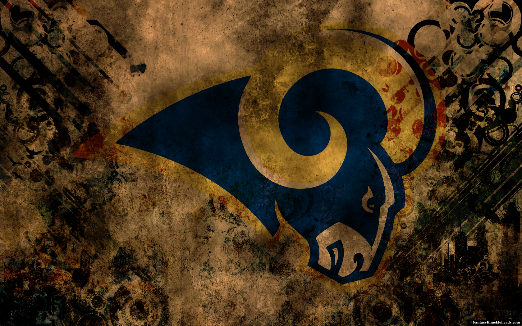 St. Louis Rams HD desktop wallpaper