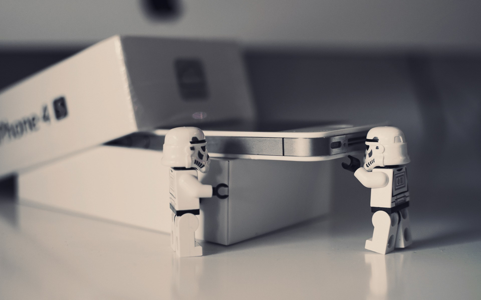 Star Wars Stormtrooper iPhone Hi-Tech Lego Photo