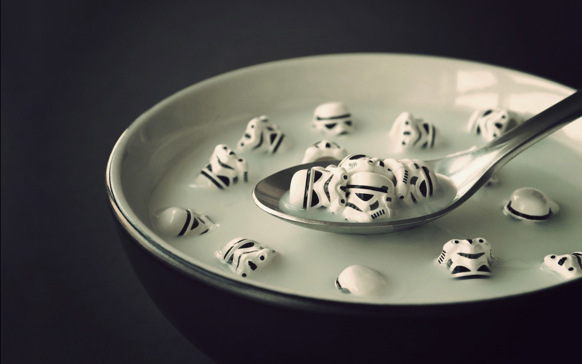 Star Wars Stormtroopers Milk Morning