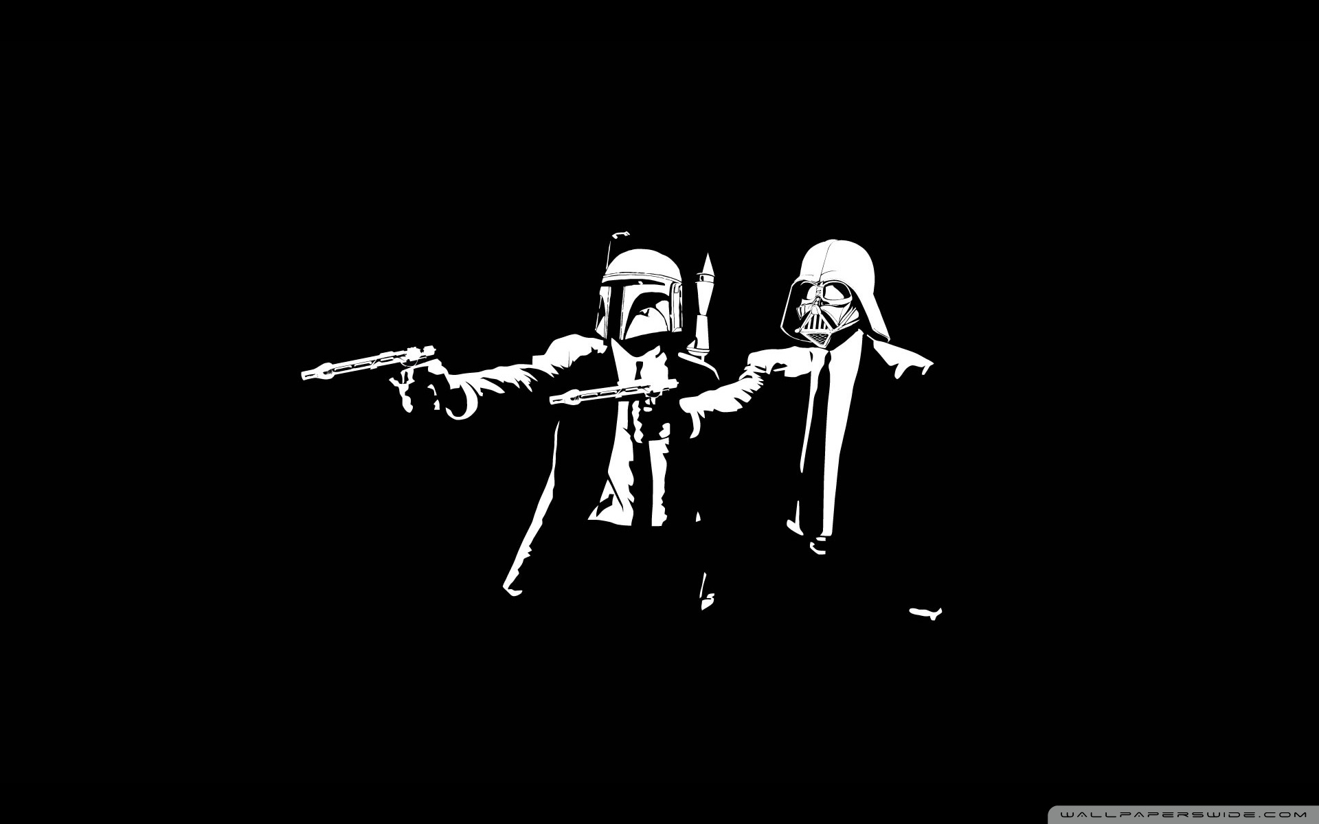 Star Wars Pulp Fiction HD Wide Wallpaper for Widescreen