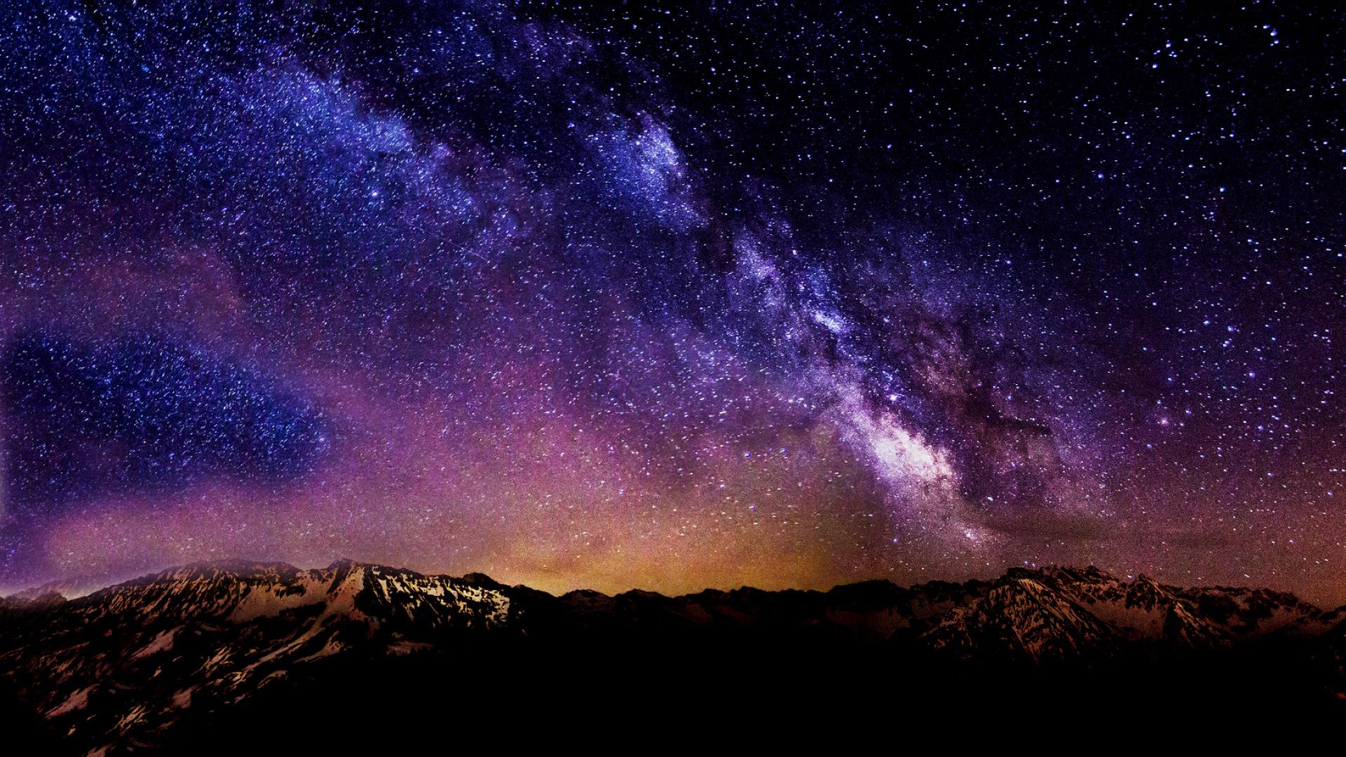... Starry Starry Night HD Desktop Background
