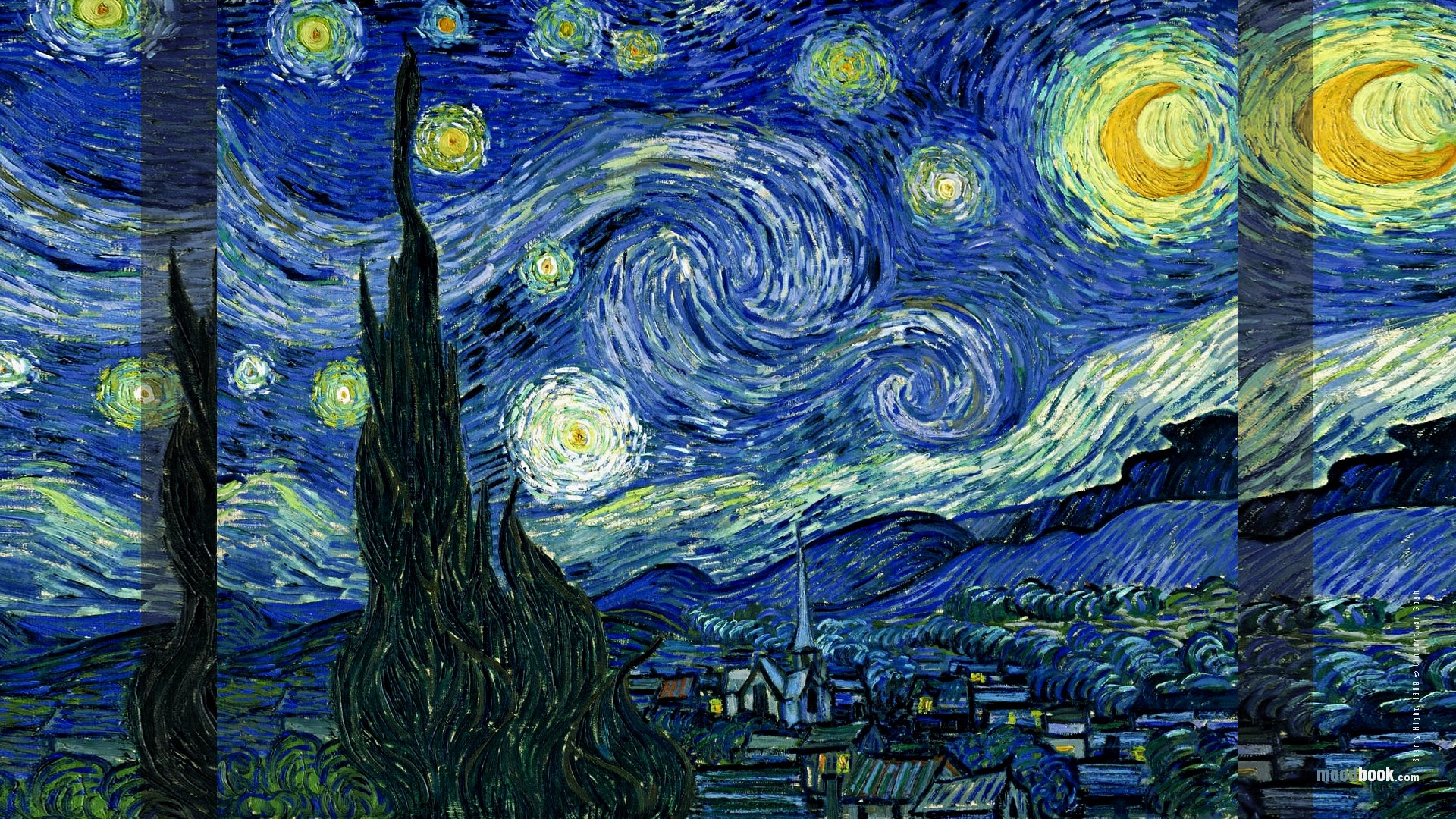 Starry Night Wallpaper