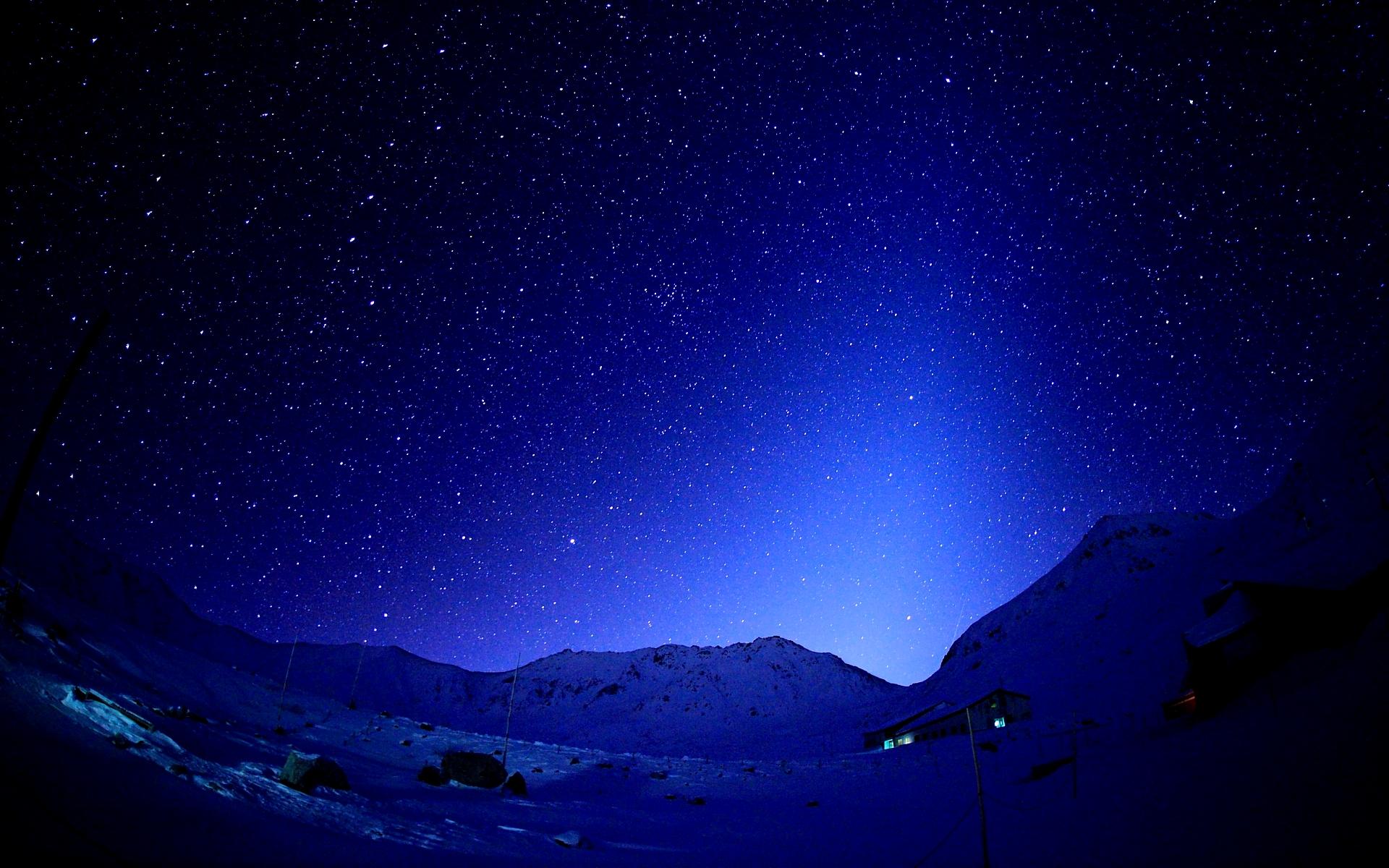 слову, красивое звездное небо картинка на рабочий стол мягкая