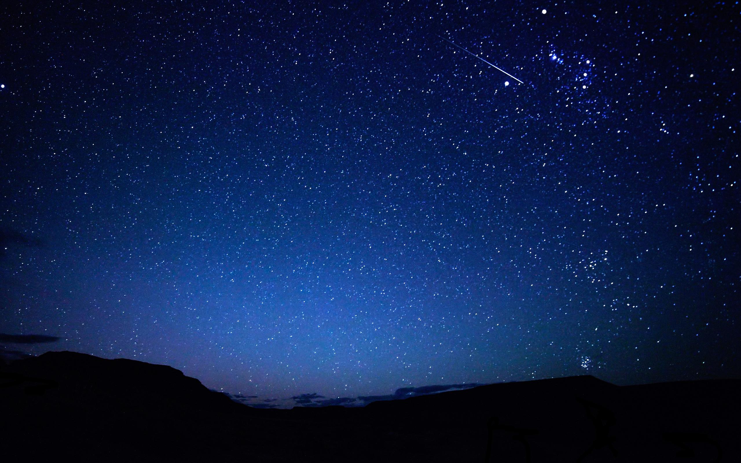 Stars night sky