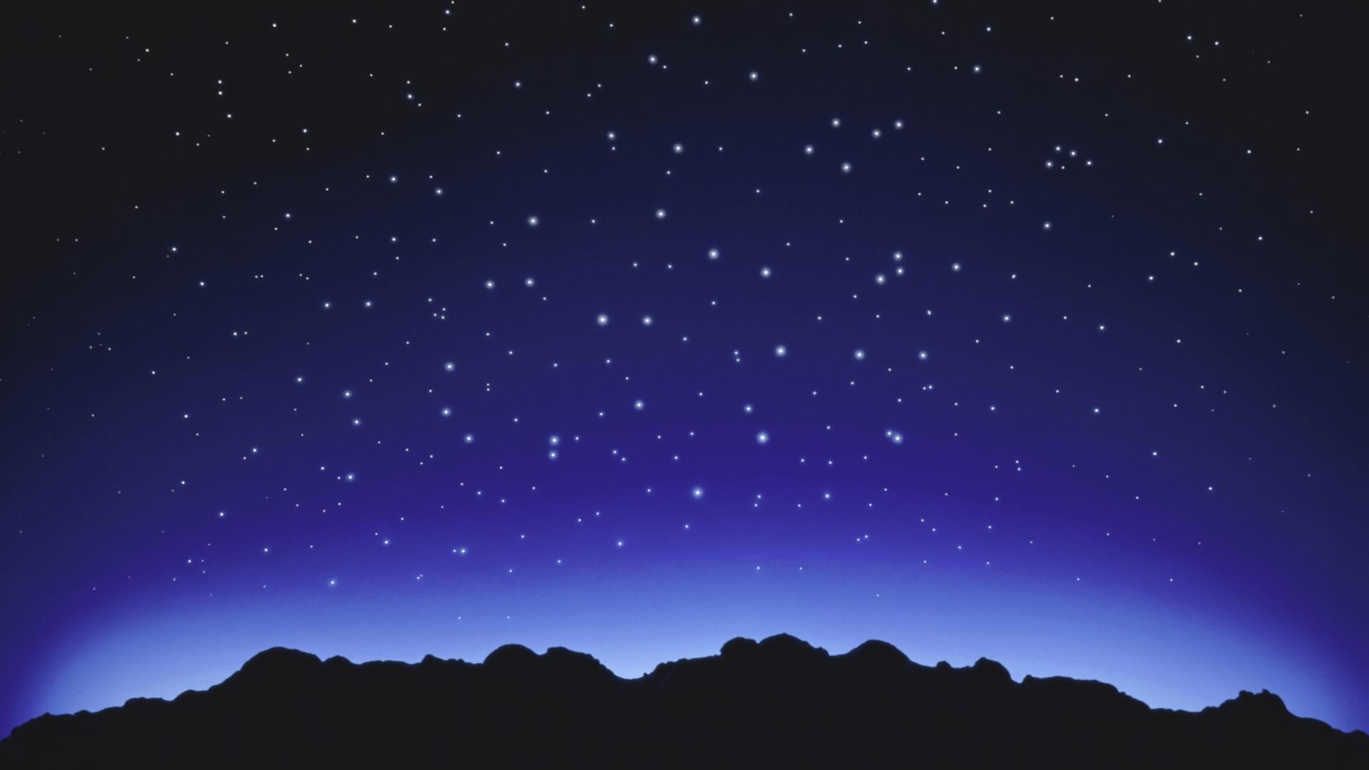 Light Stars Wallpaper 1920×1080 Light, Stars, Bright