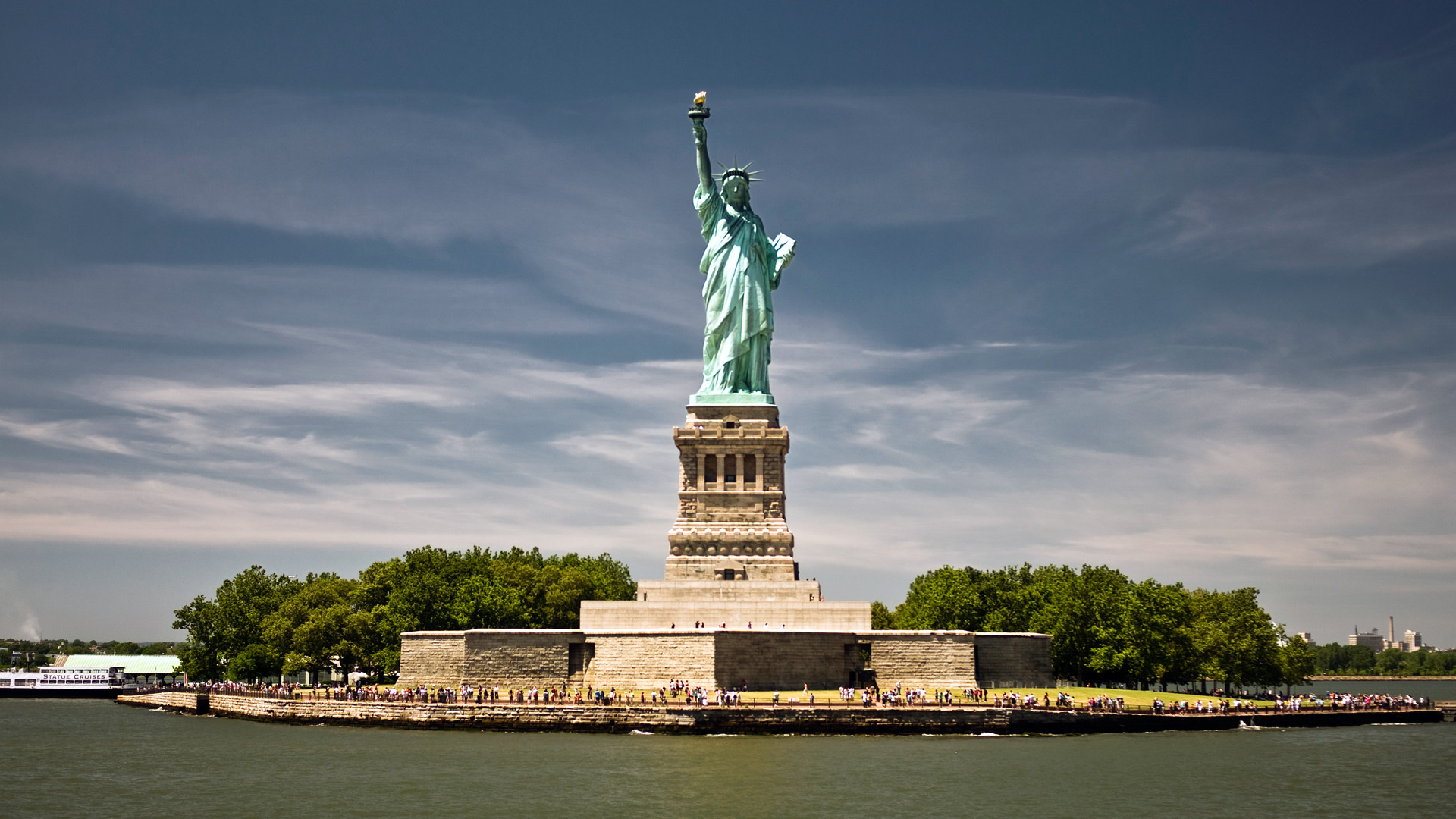 Large Statue of Liberty HD Wallpapers ...