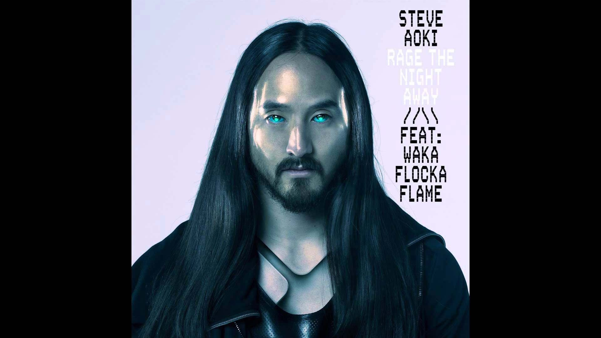 Steve Aoki feat. Waka Flocka Flame - Rage The Night Away (Album Edit) [Cover Art]