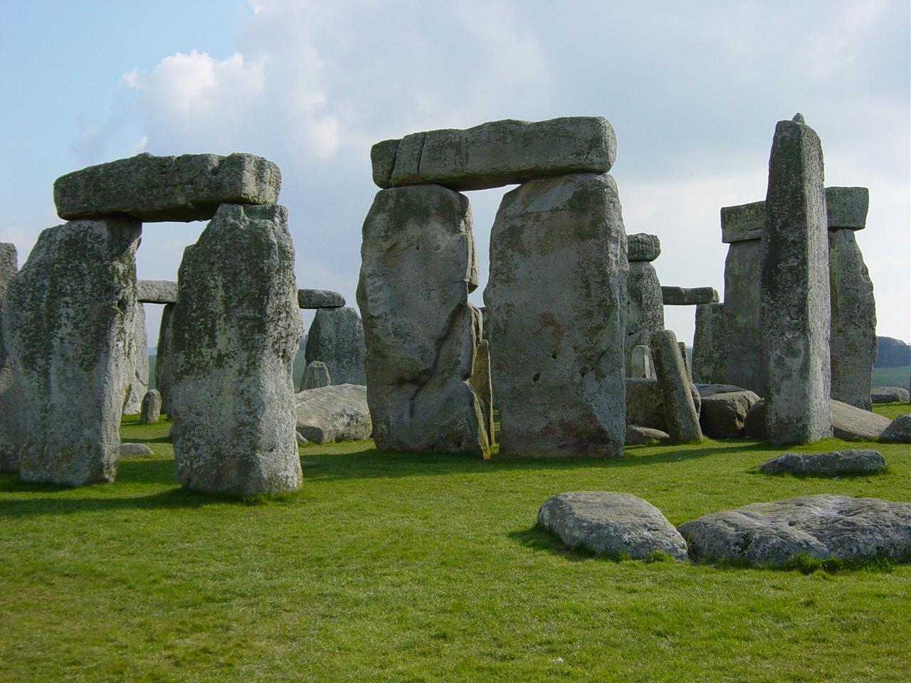 Closeup of Stonehenge
