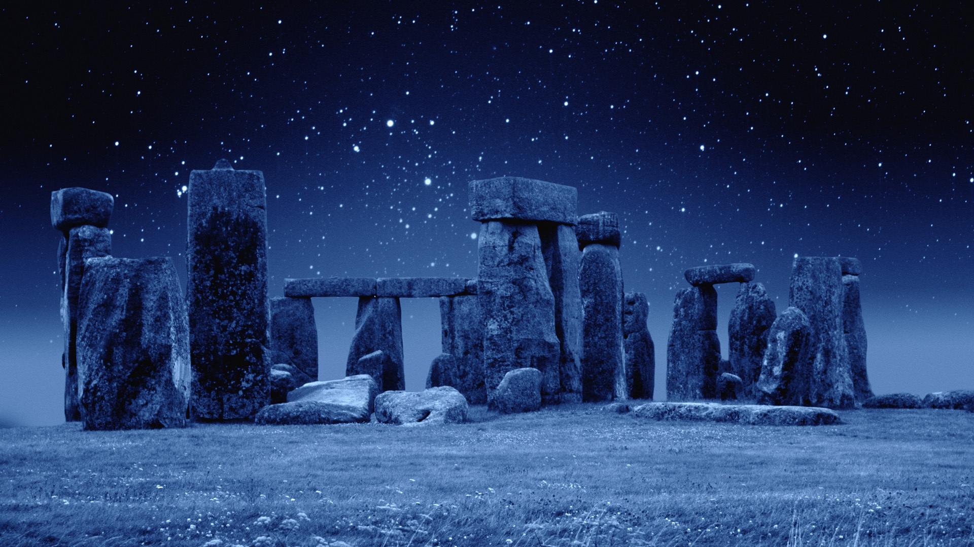 1920x1080 Man Made Stonehenge